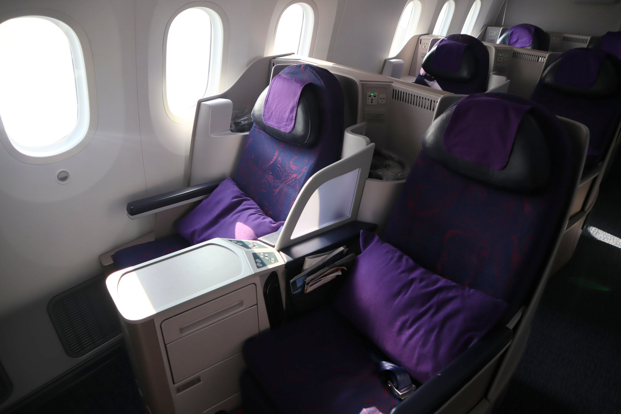 Air China business class – Seats 13J and 13L