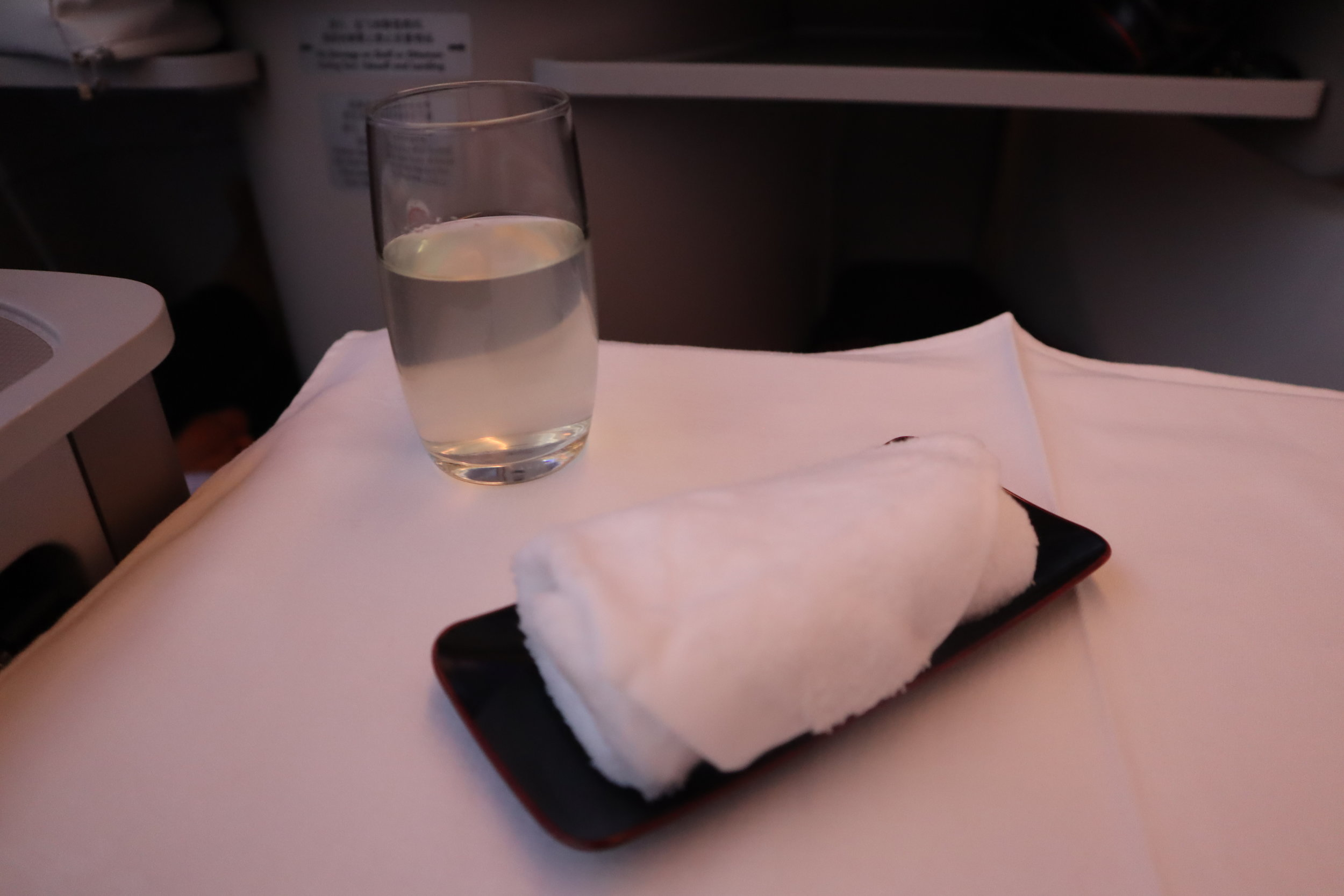 Air China business class – Second meal service