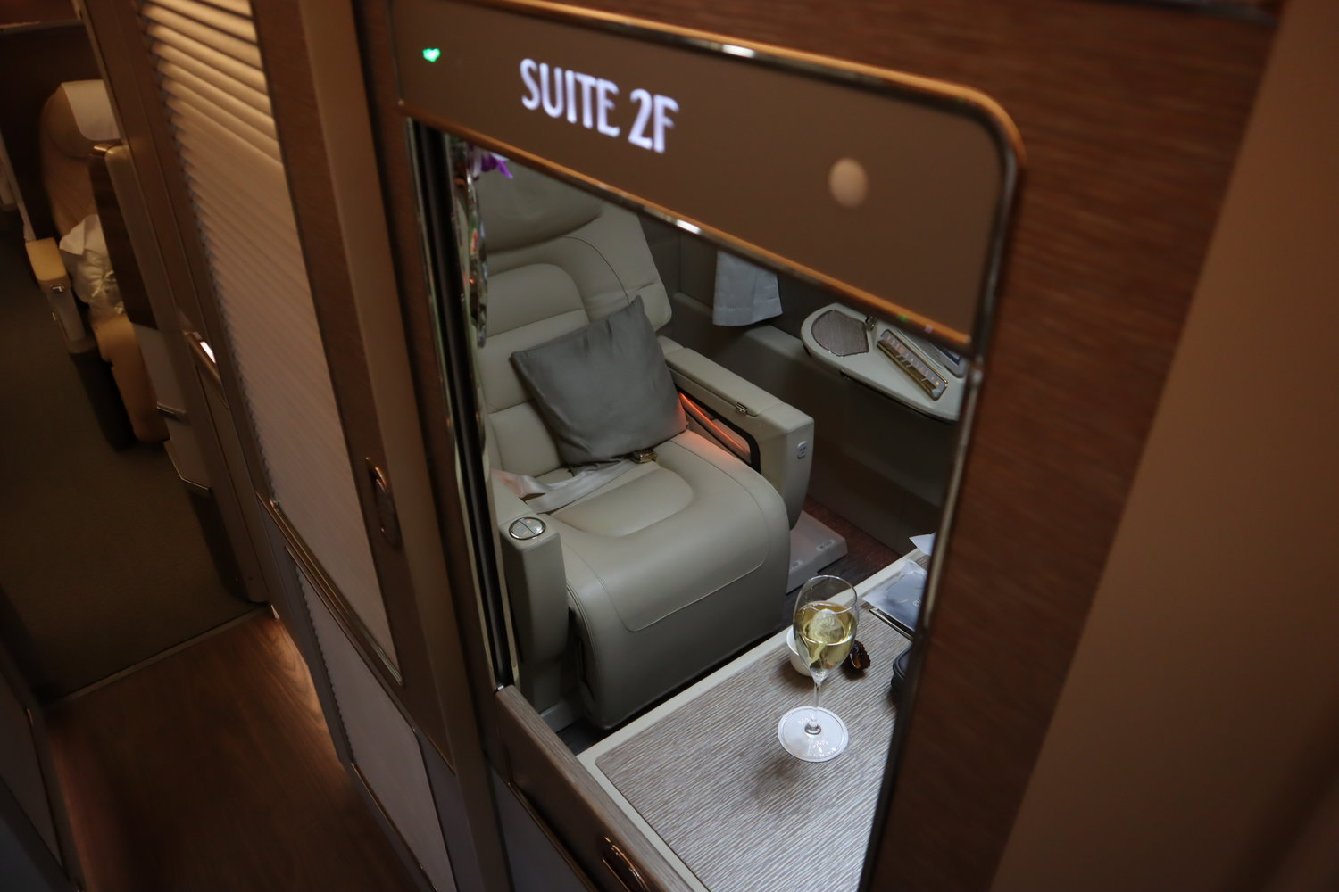 Fly Emirates First Class for 150,000 Alaska miles