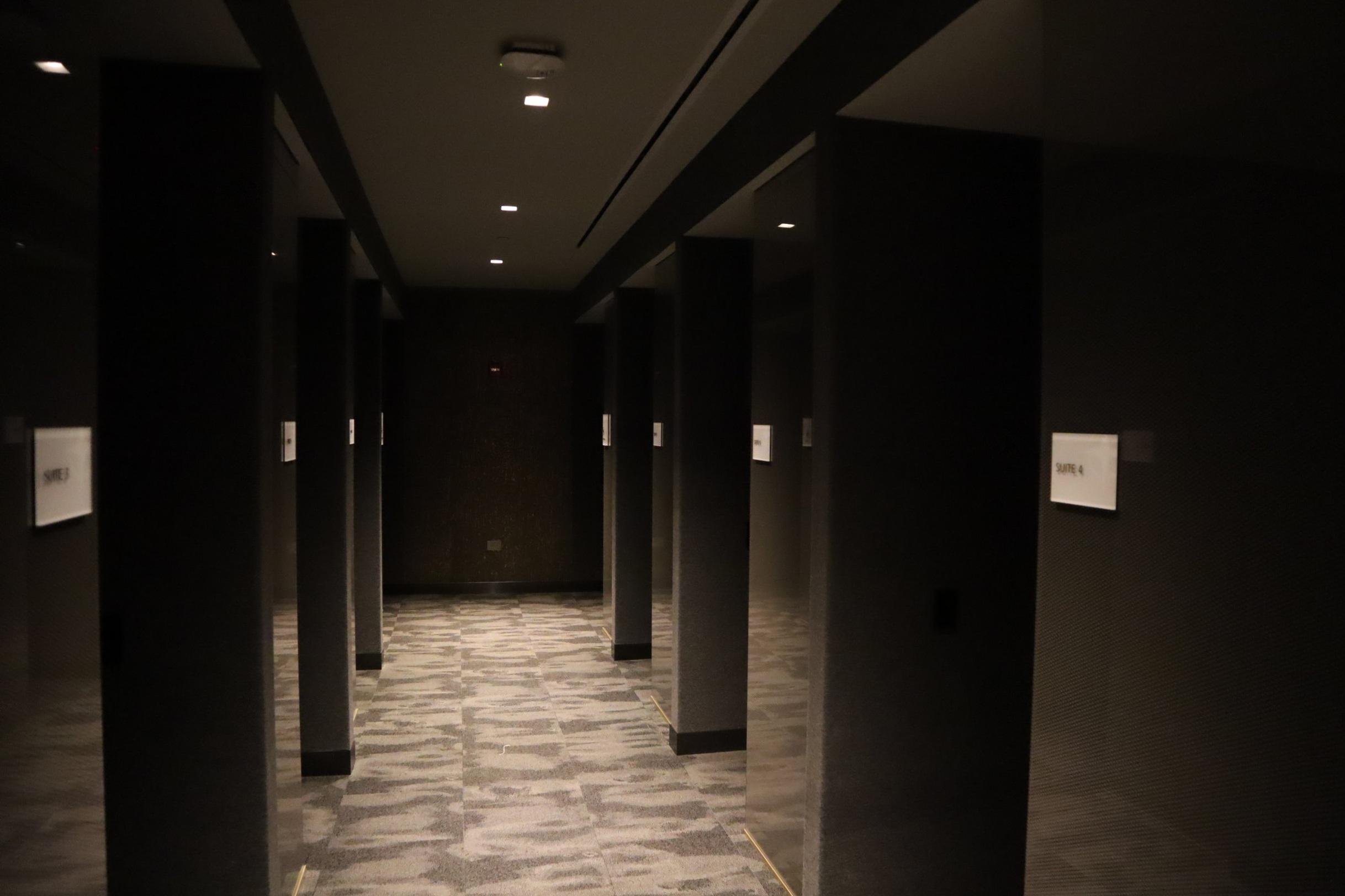 United Polaris Lounge Newark – Quiet suites