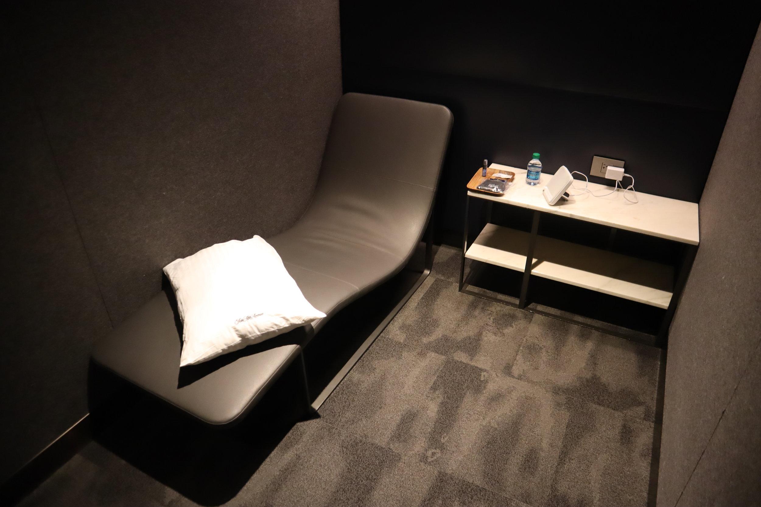United Polaris Lounge Newark – Quiet suite