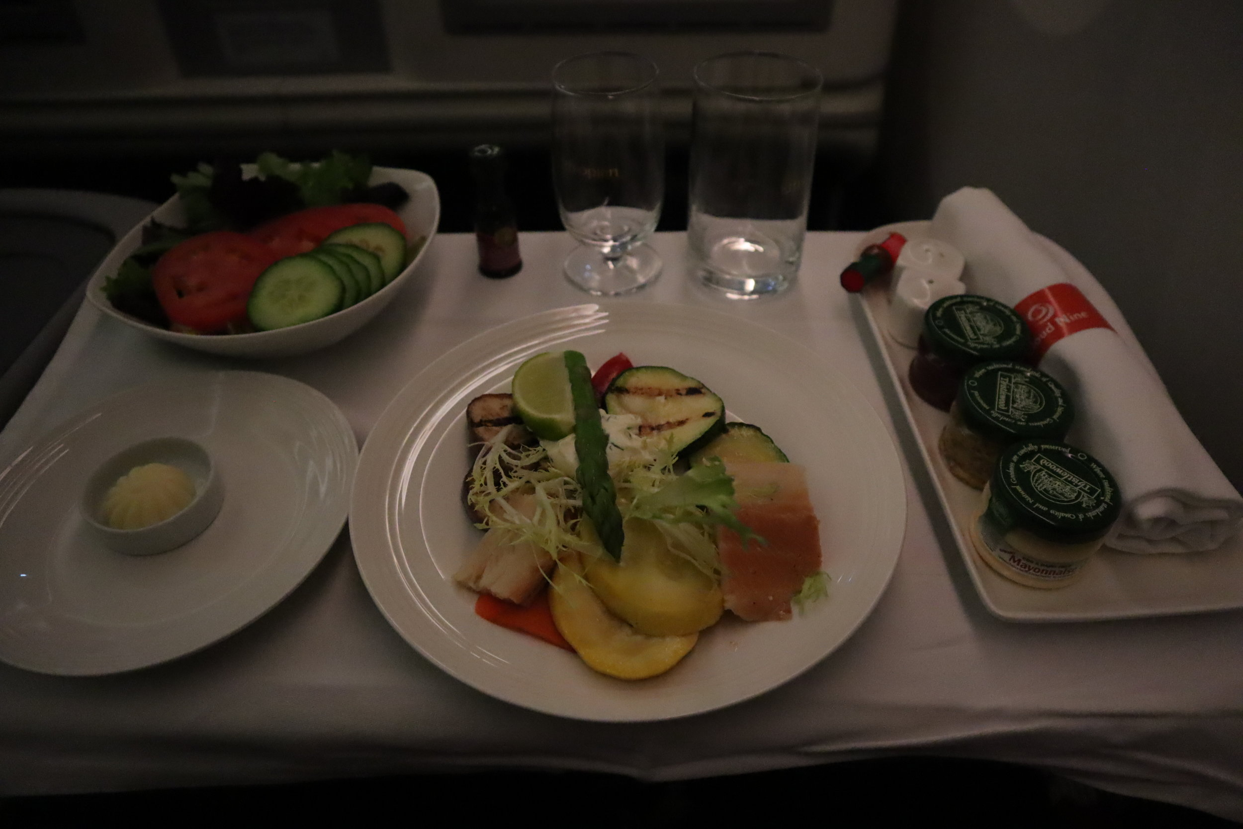 Ethiopian Airlines business class – Appetizer