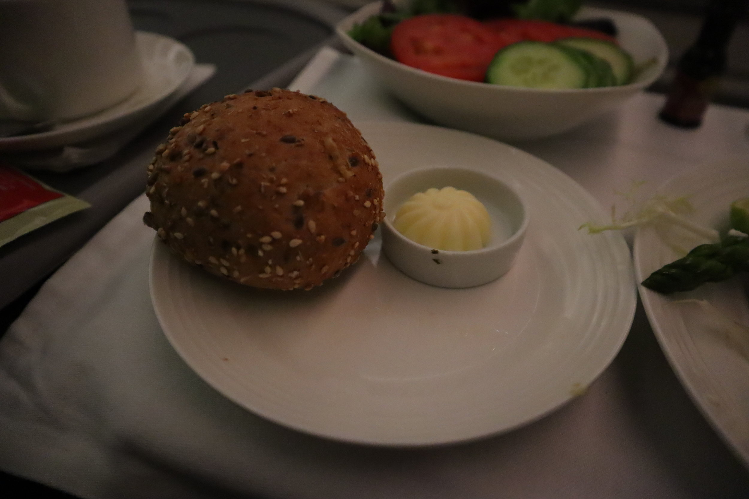 Ethiopian Airlines business class – Bread