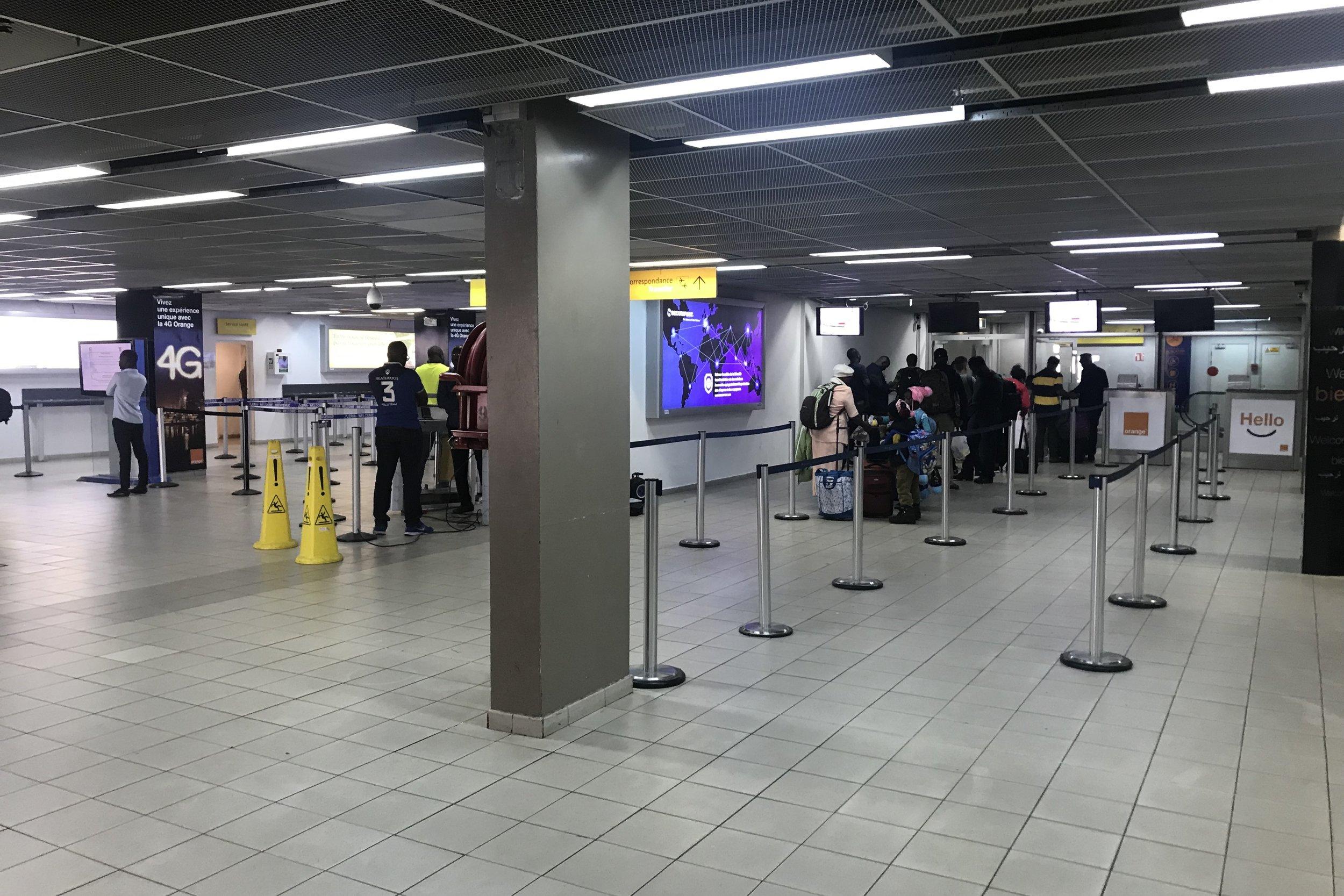 Abidjan Airport – Immigration