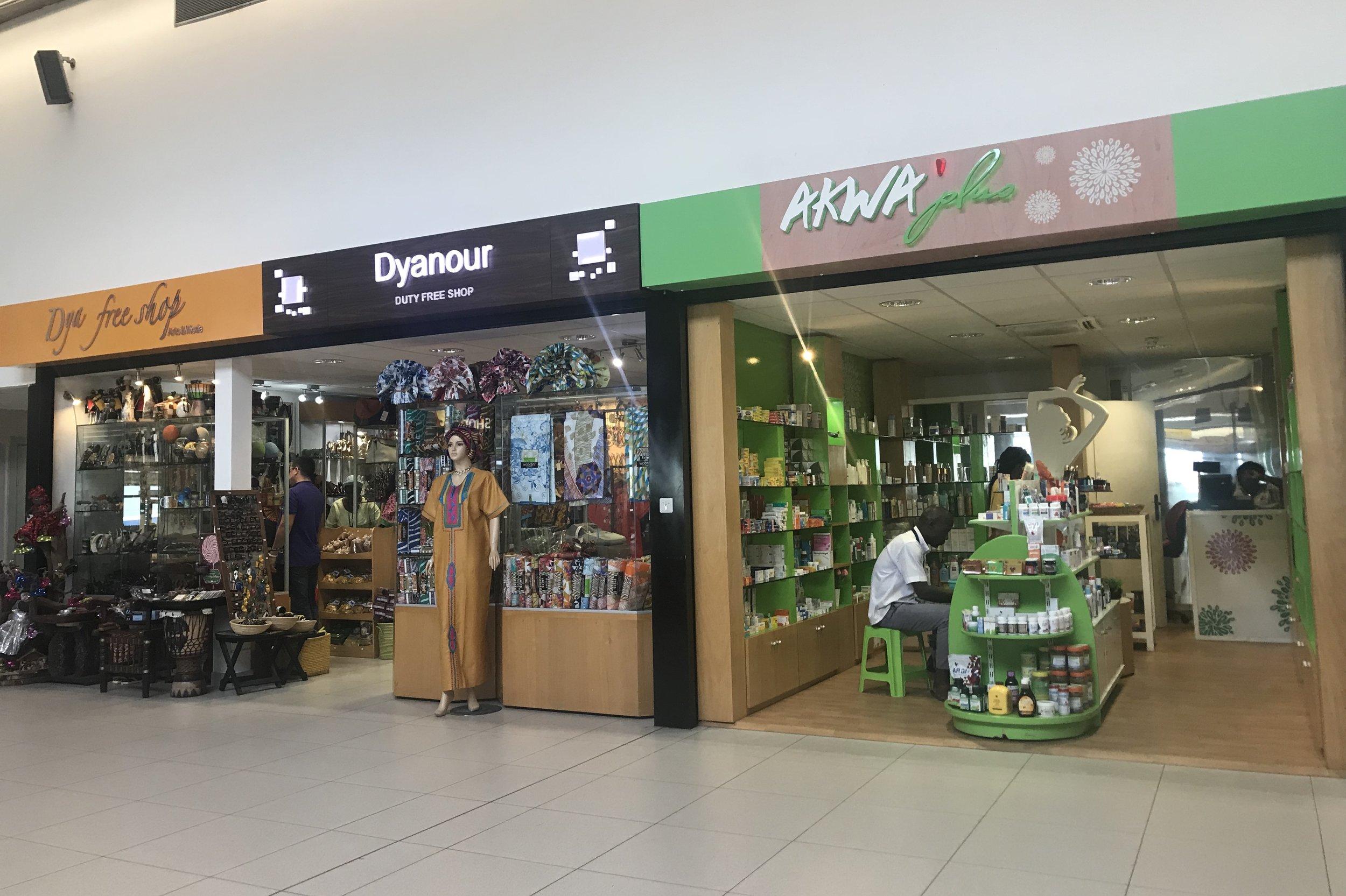 Abidjan Airport – Departure hall