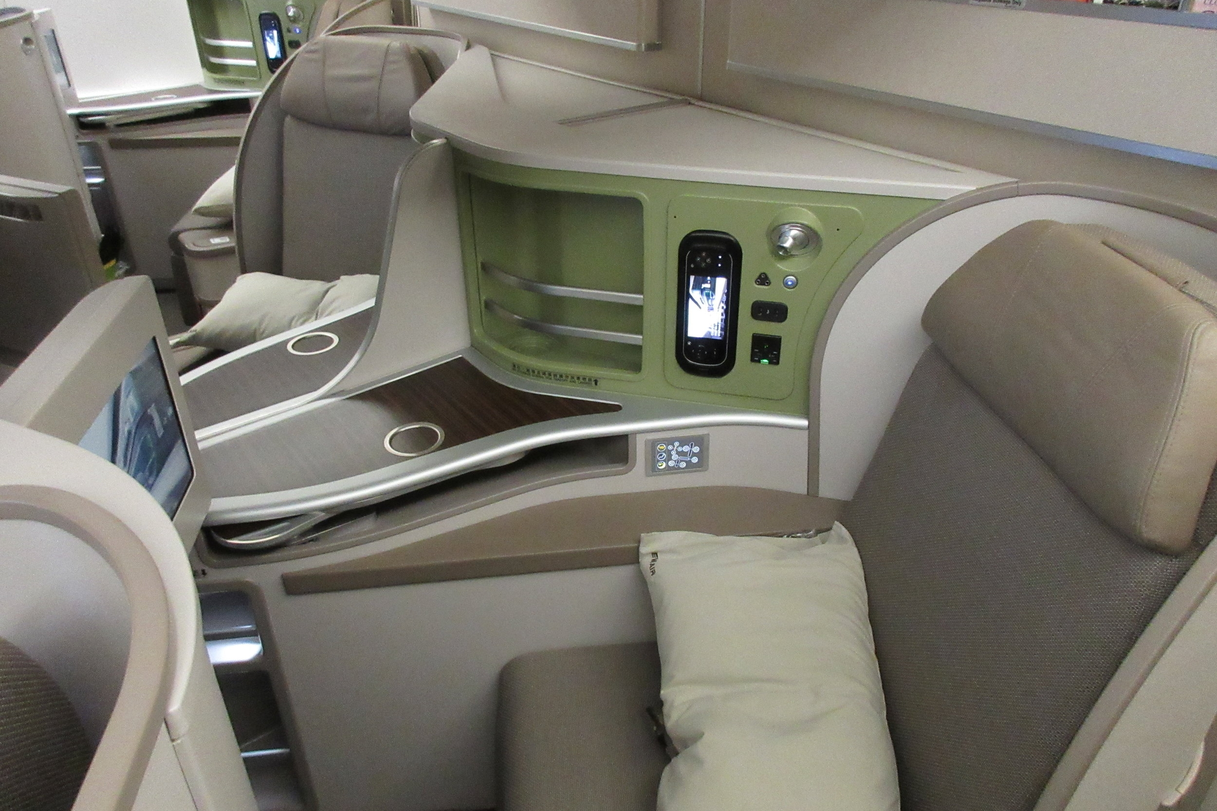 EVA Air 777 business class