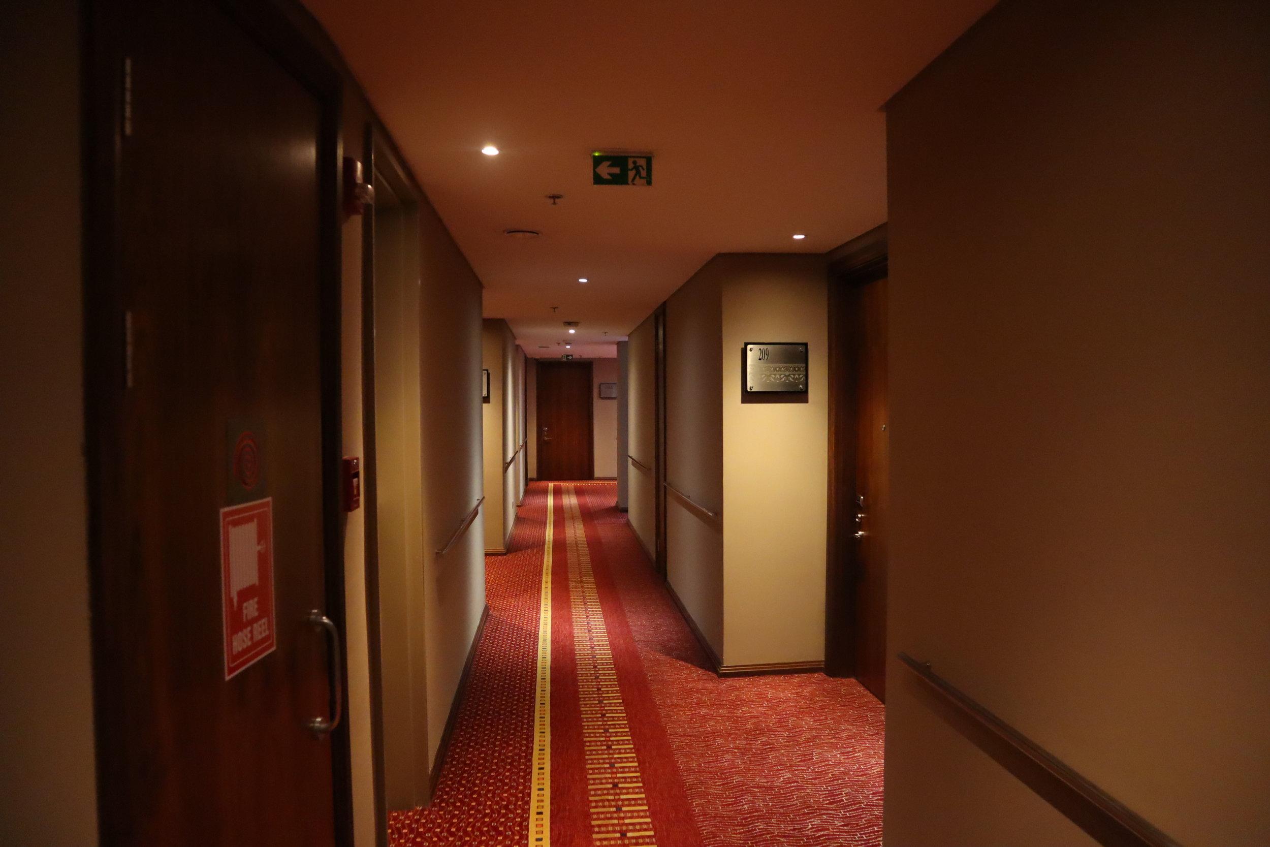 Marriott Accra – Hallway
