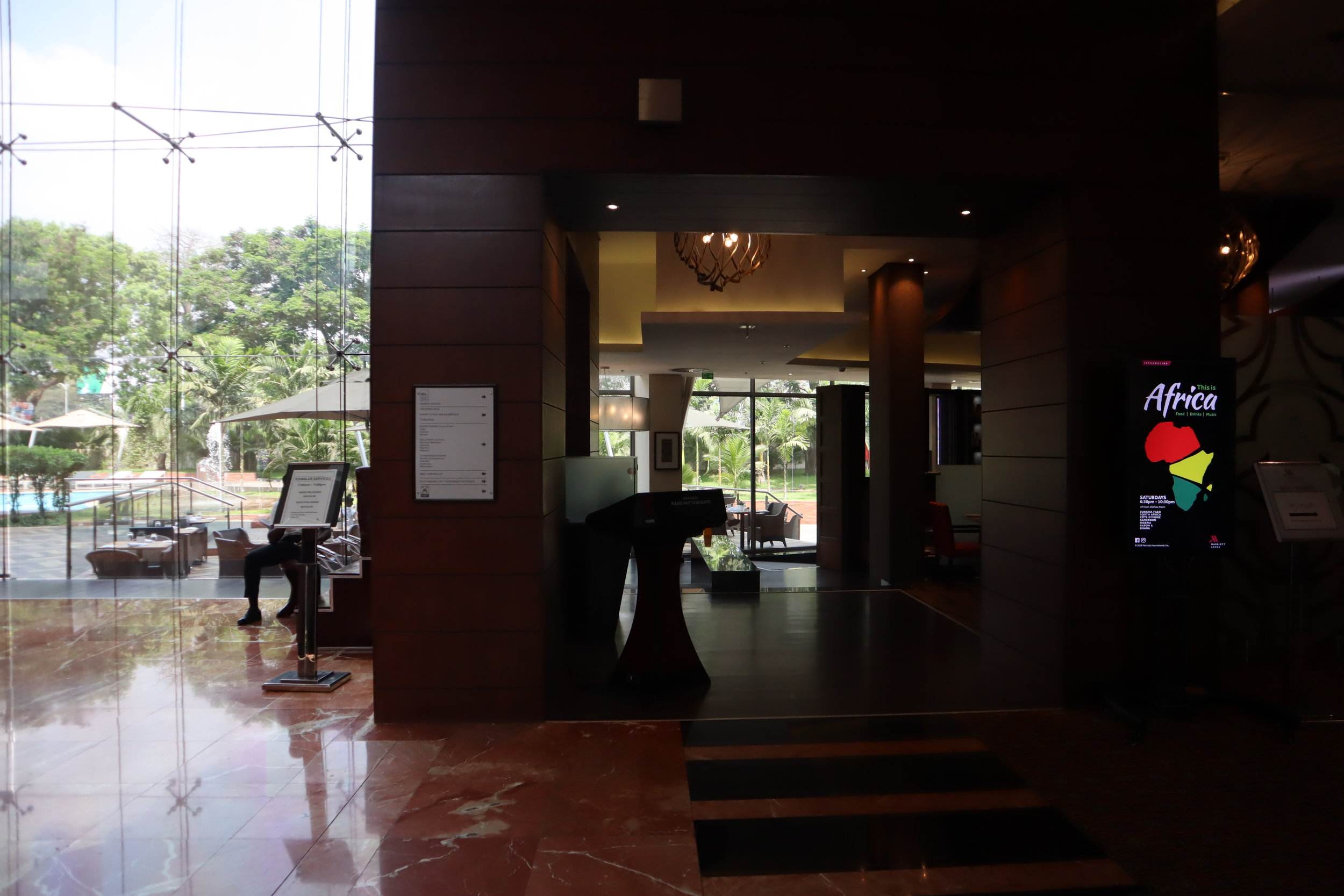 Marriott Accra – Red Red restaurant