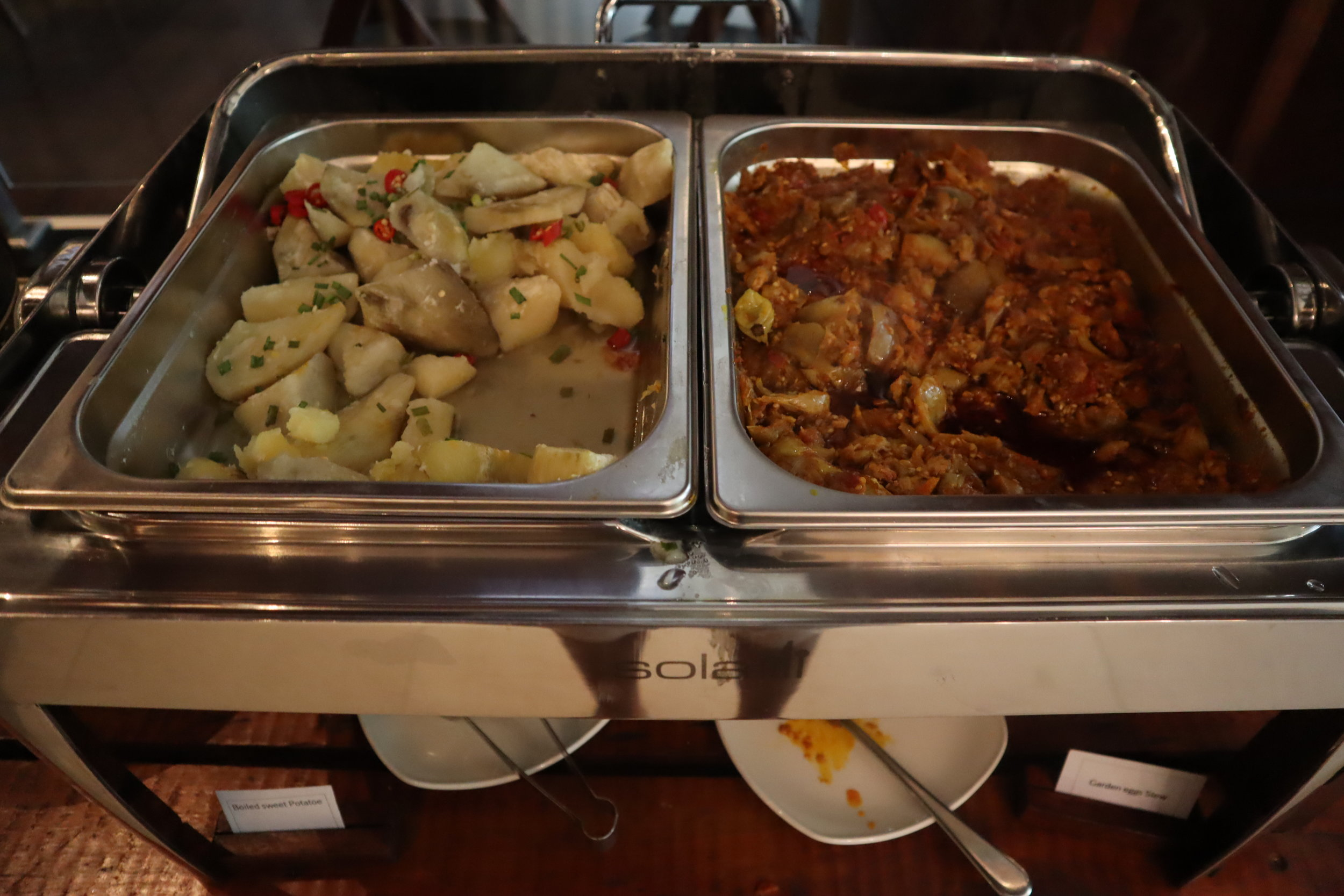 Marriott Accra – Local Corner breakfast