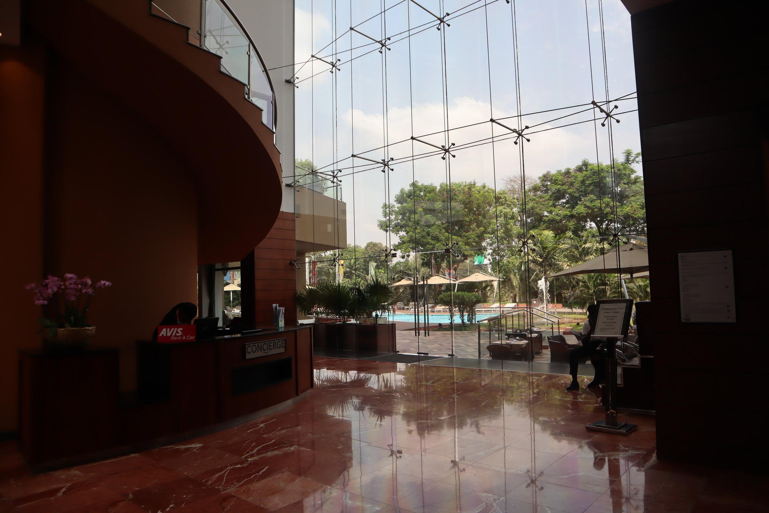 Marriott Accra – Hotel lobby