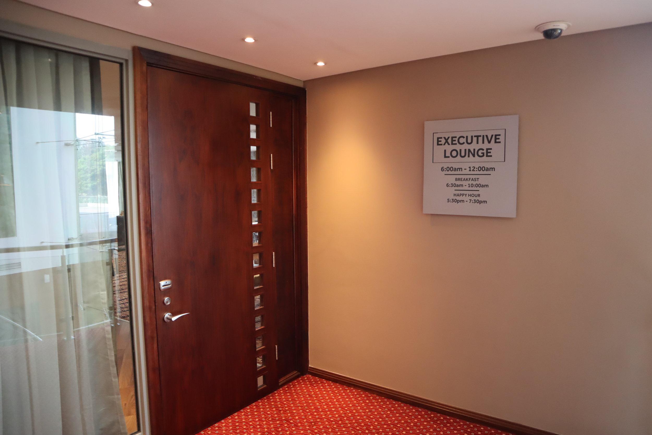 Marriott Accra – Executive Lounge