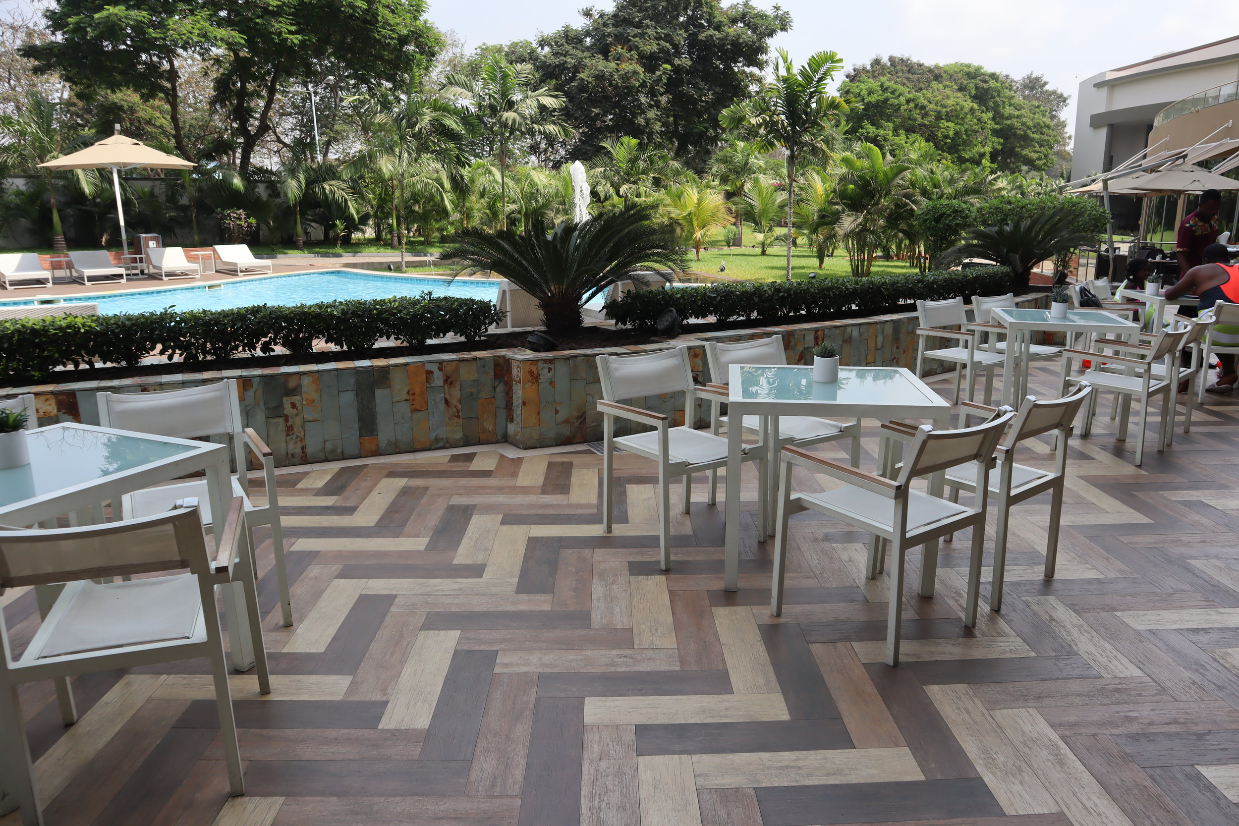 Marriott Accra – Poolside