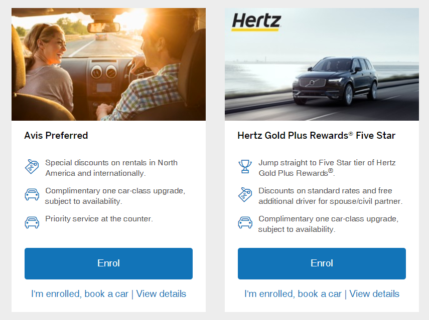 Status Matching With Car Rentals Prince Of Travel