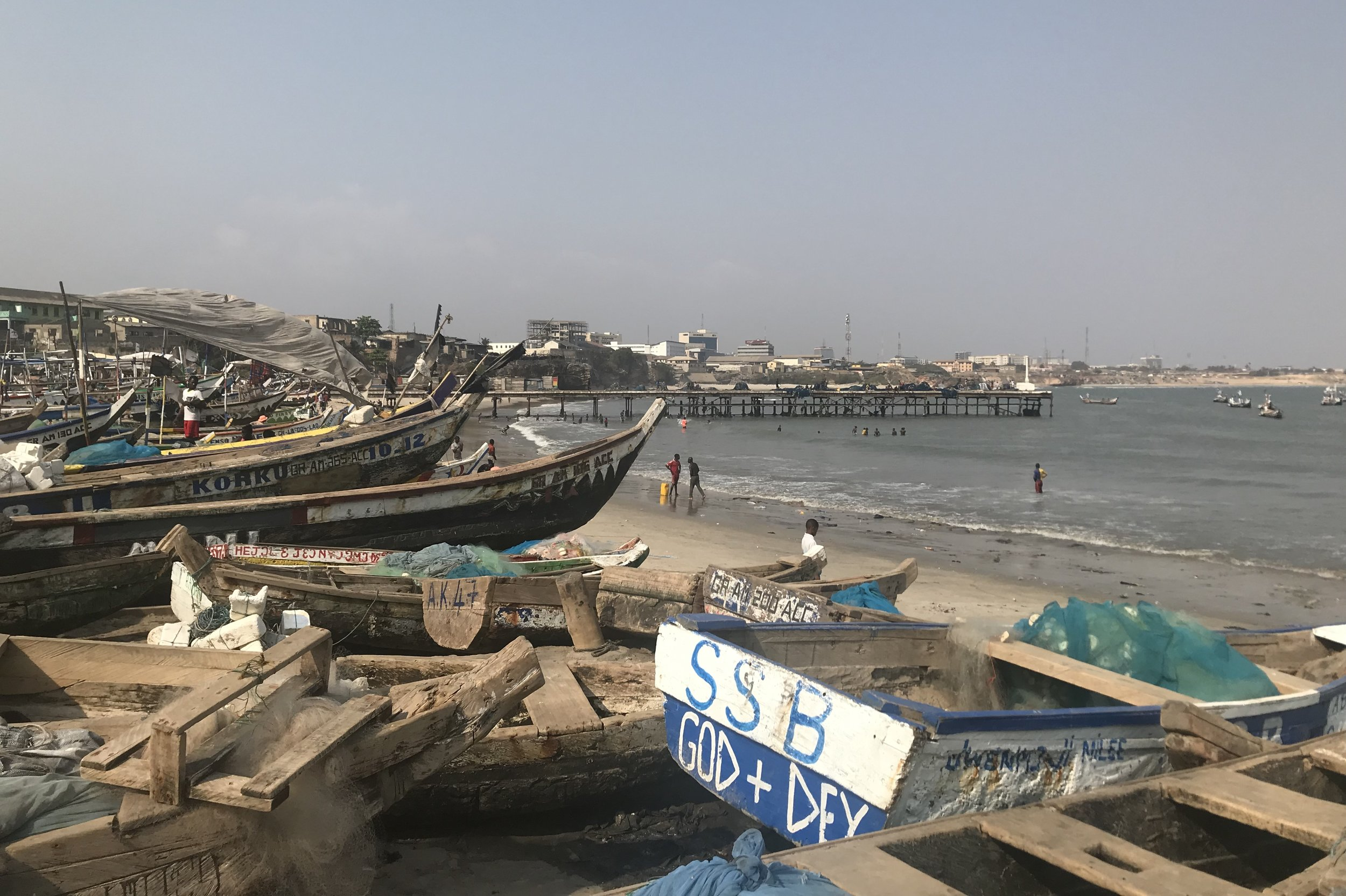 Jamestown fishing harbour – Boats