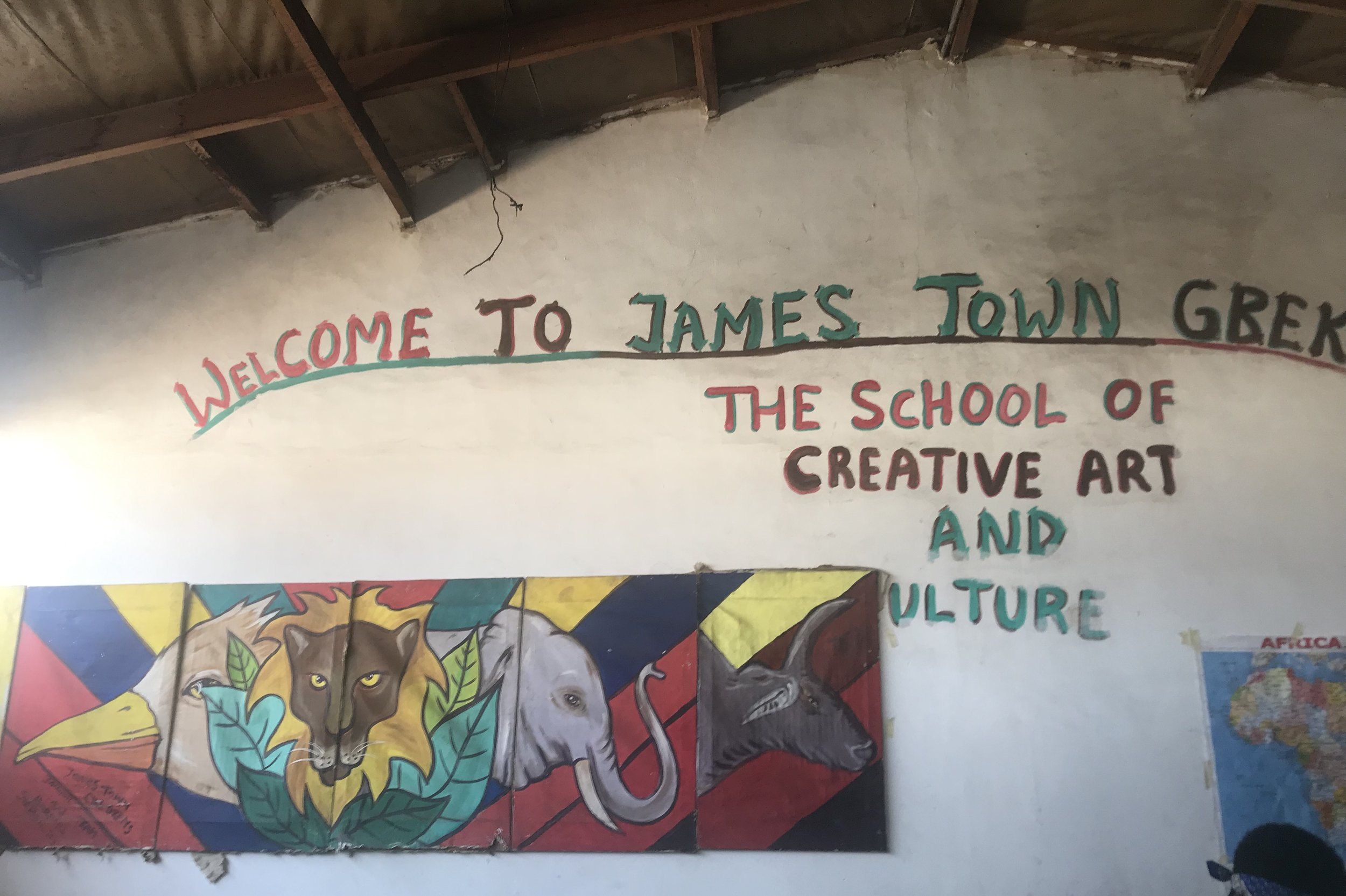 Jamestown fishing harbour – Non-profit school