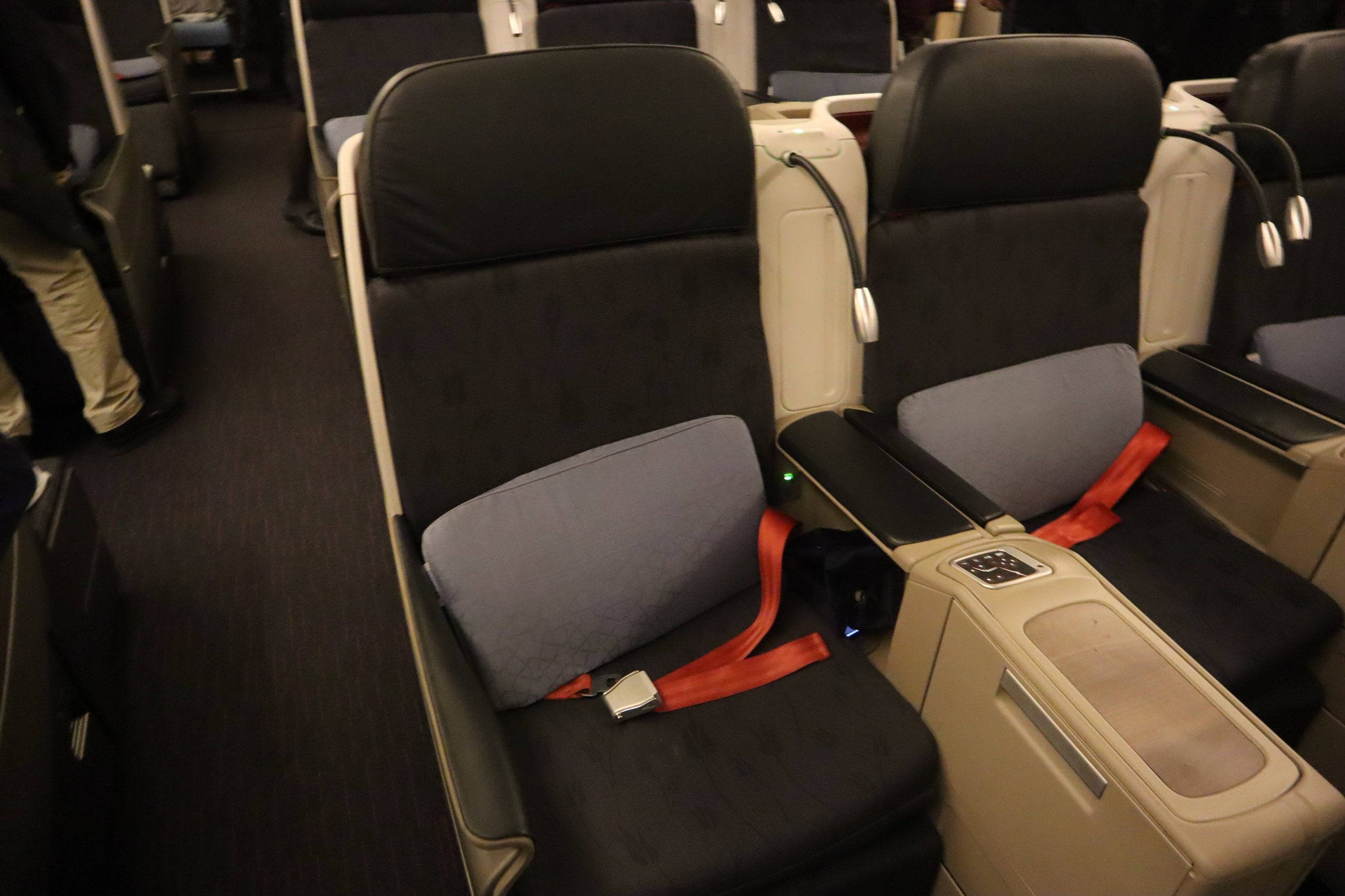 Turkish Airlines 777 business class – Seat 5G