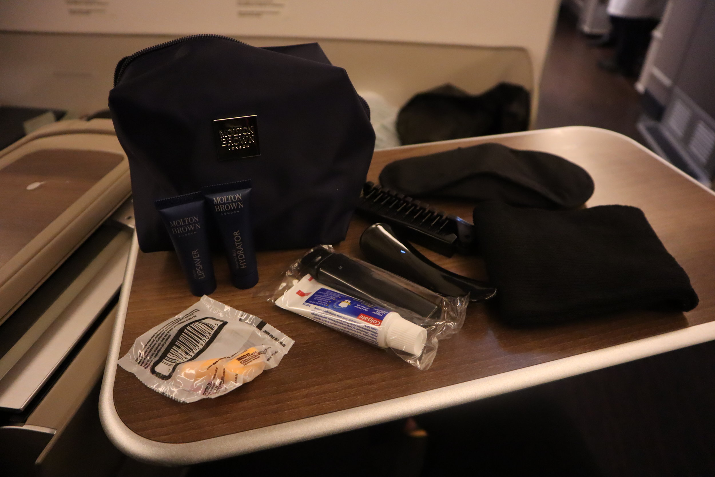 Turkish Airlines 777 business class – Amenity kit