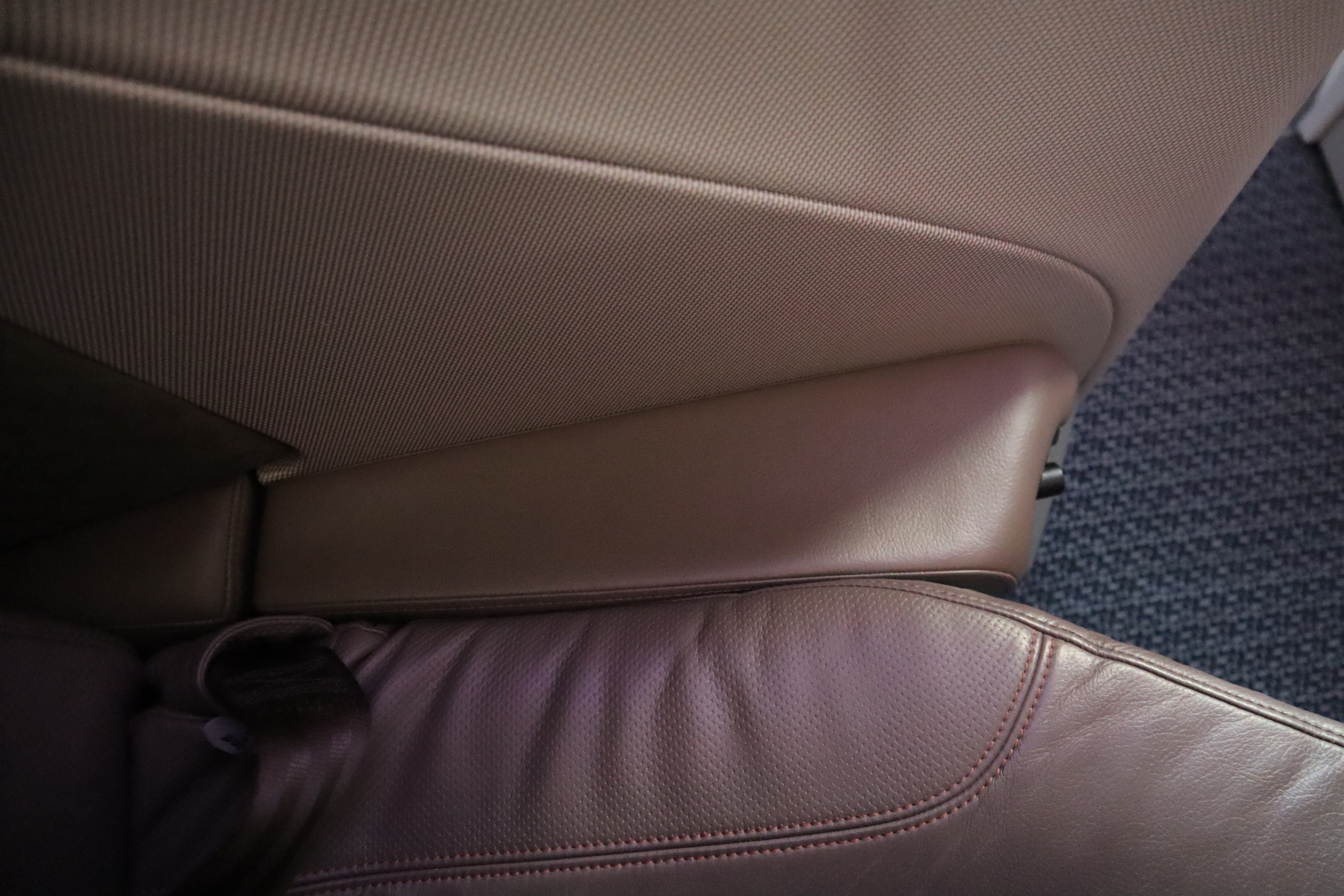 Singapore Airlines 787-10 business class – Armrest