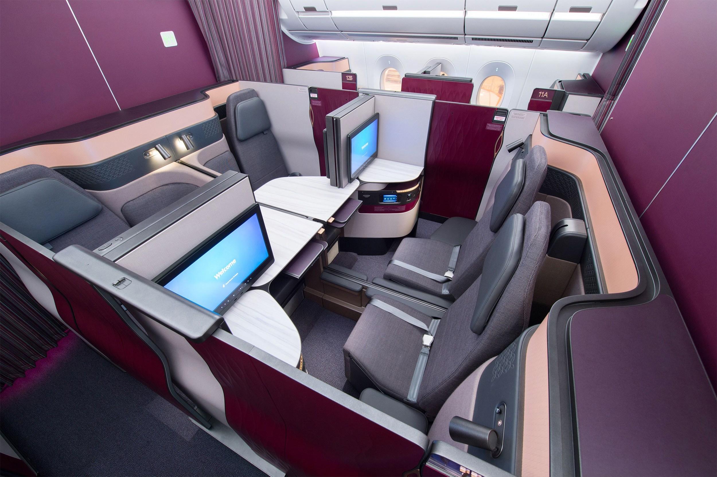 Fly Qatar Airways Qsuites on an Avios multi-carrier award!