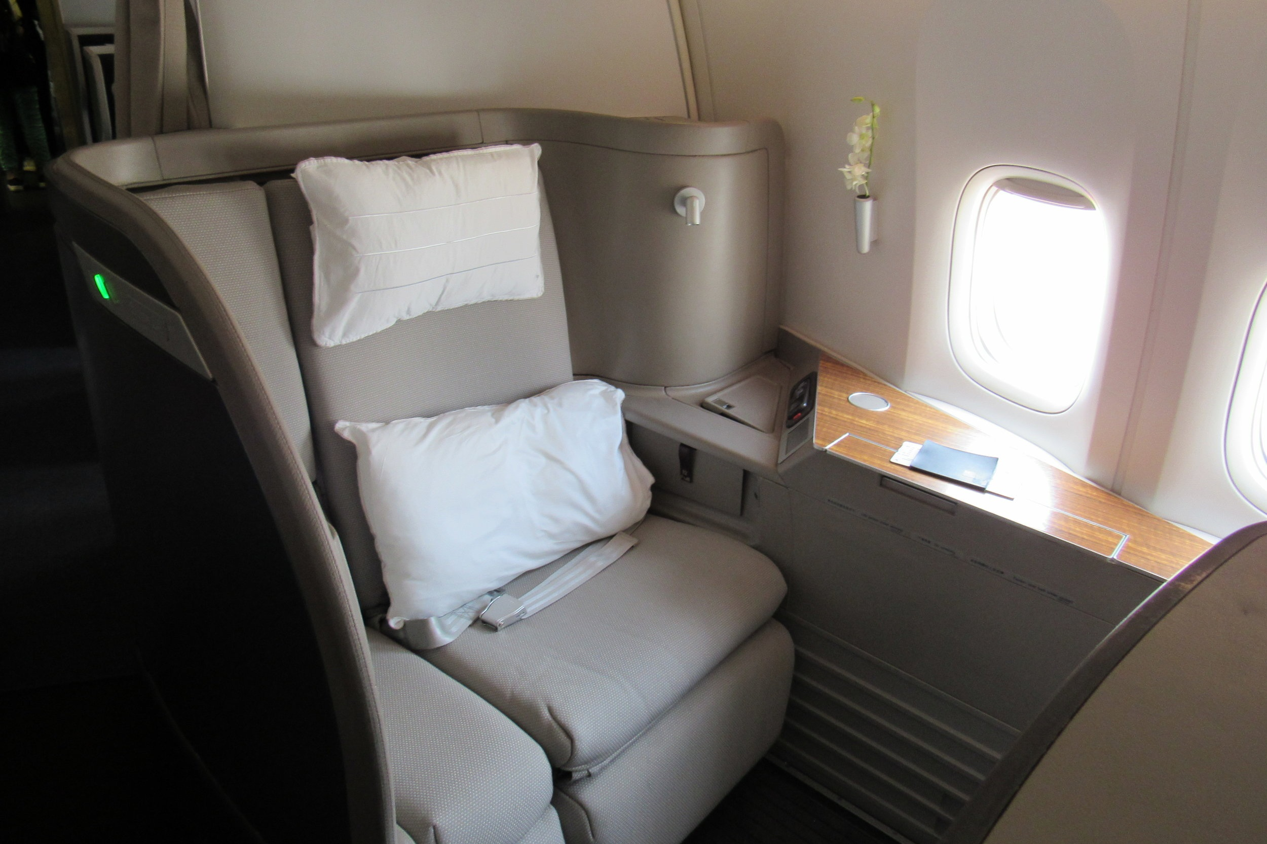 Fly Cathay Pacific First Class on an Avios multi-carrier award!