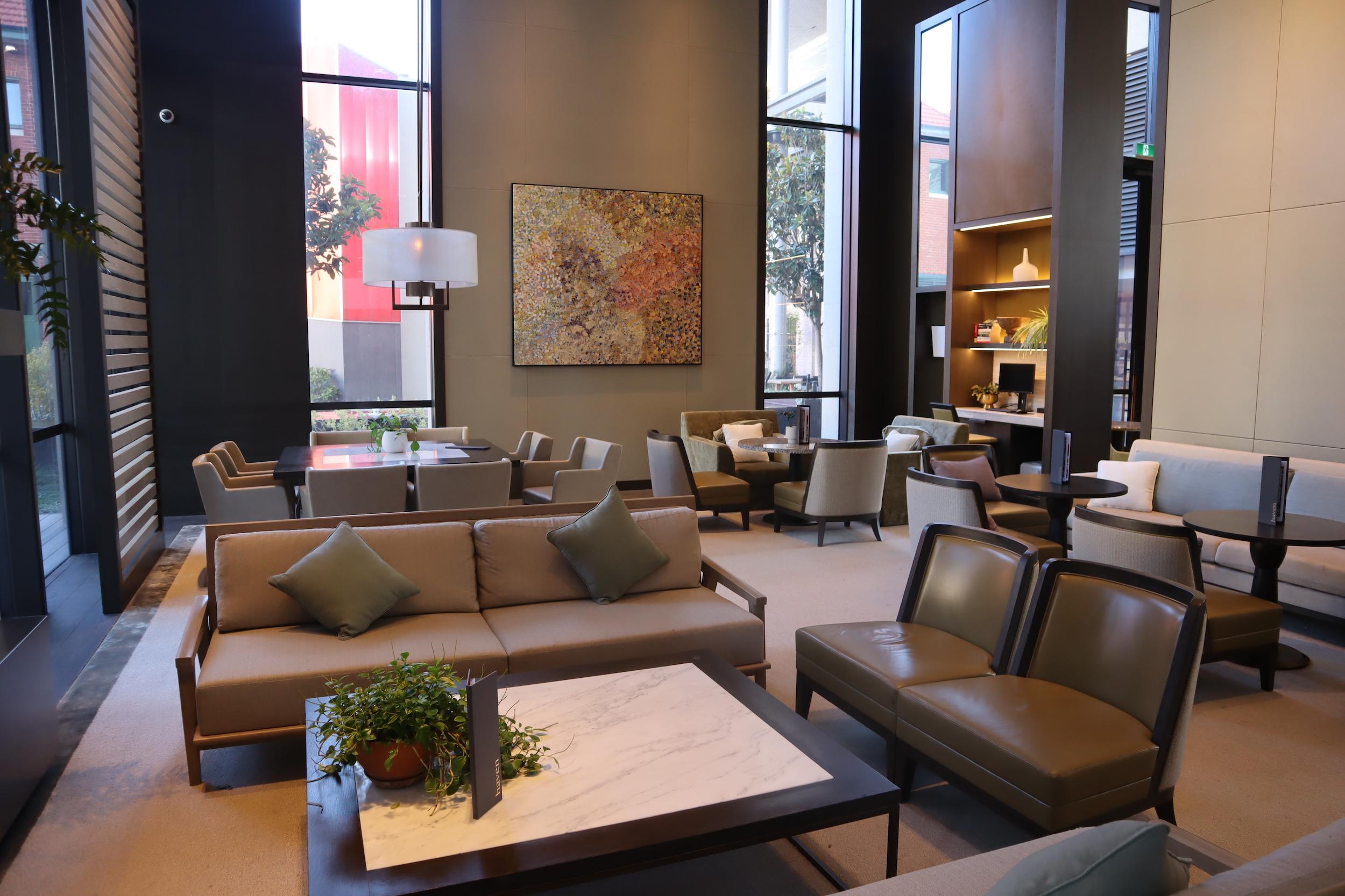 Westin Perth – Lobby lounge