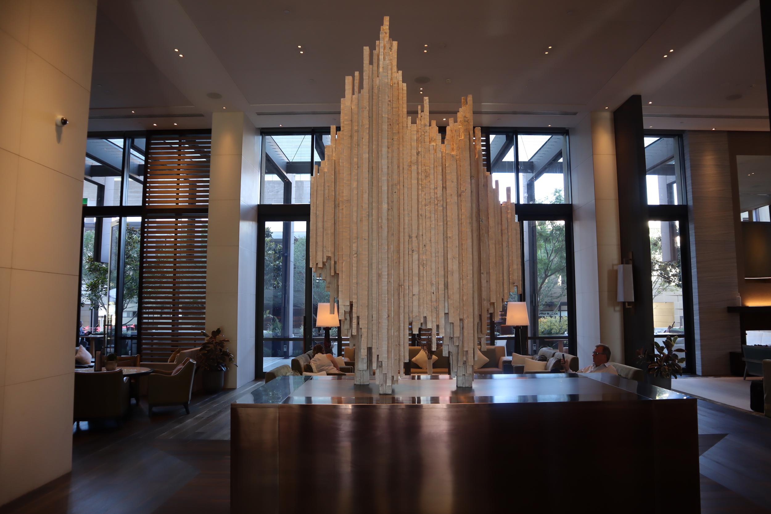 Westin Perth – Lobby sculpture