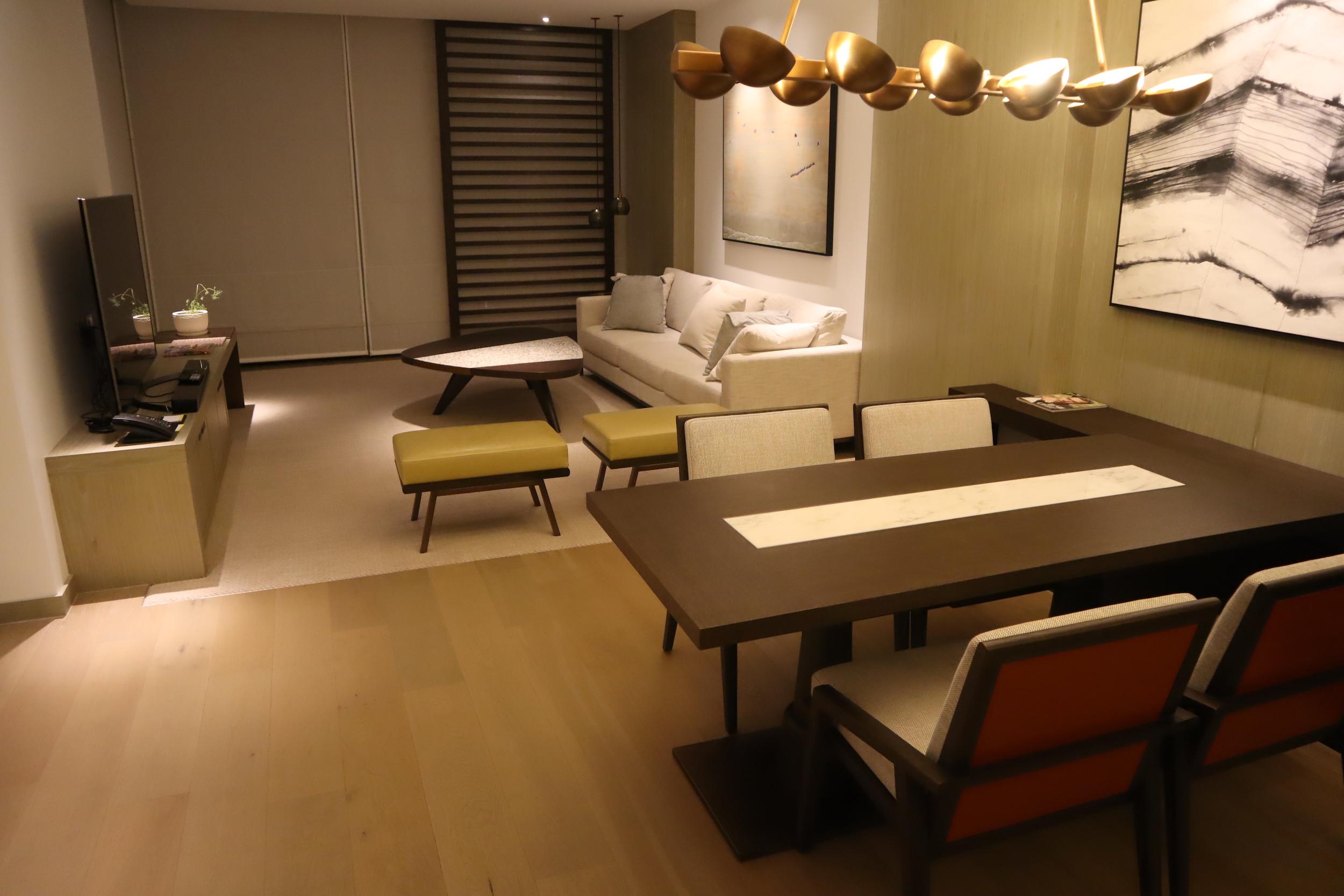 Westin Perth – Westin Suite dining area