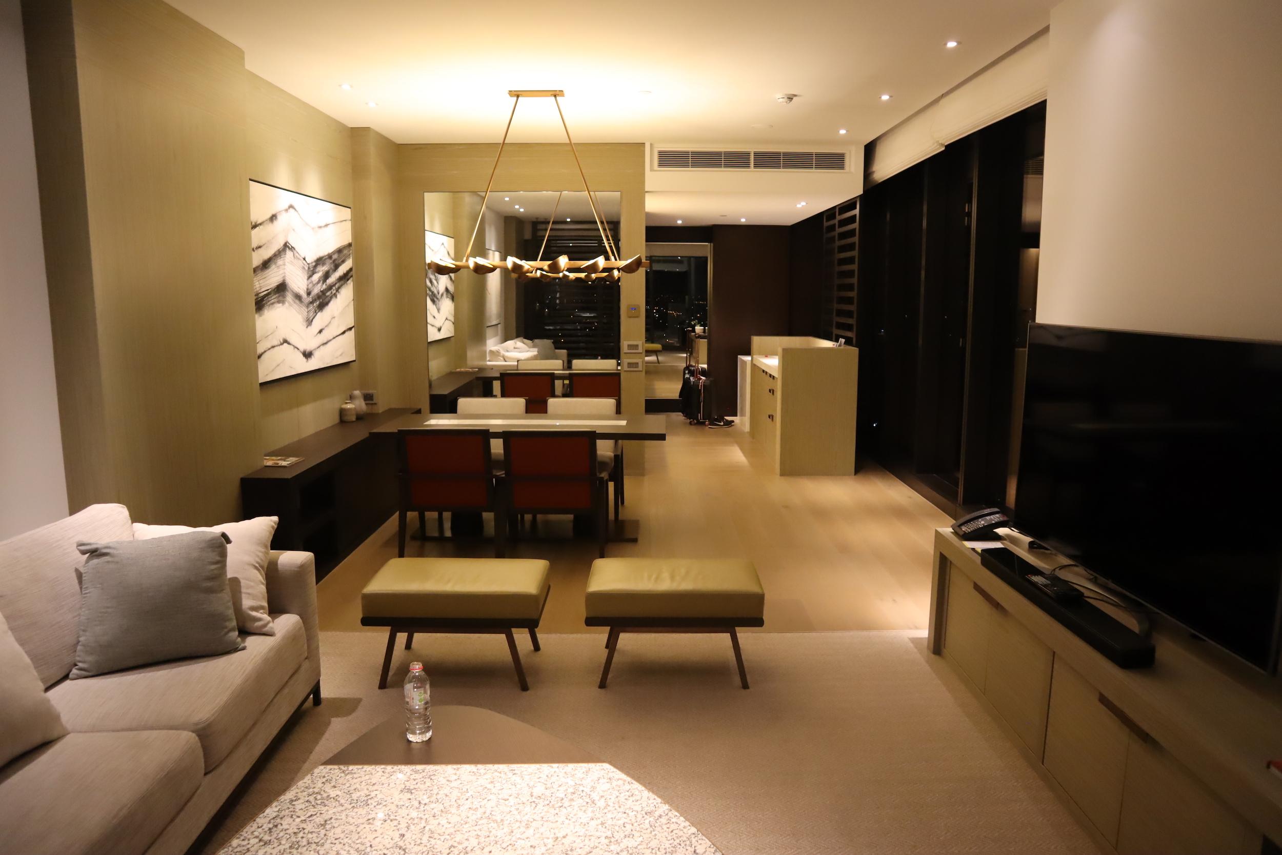 Westin Perth – Westin Suite living area