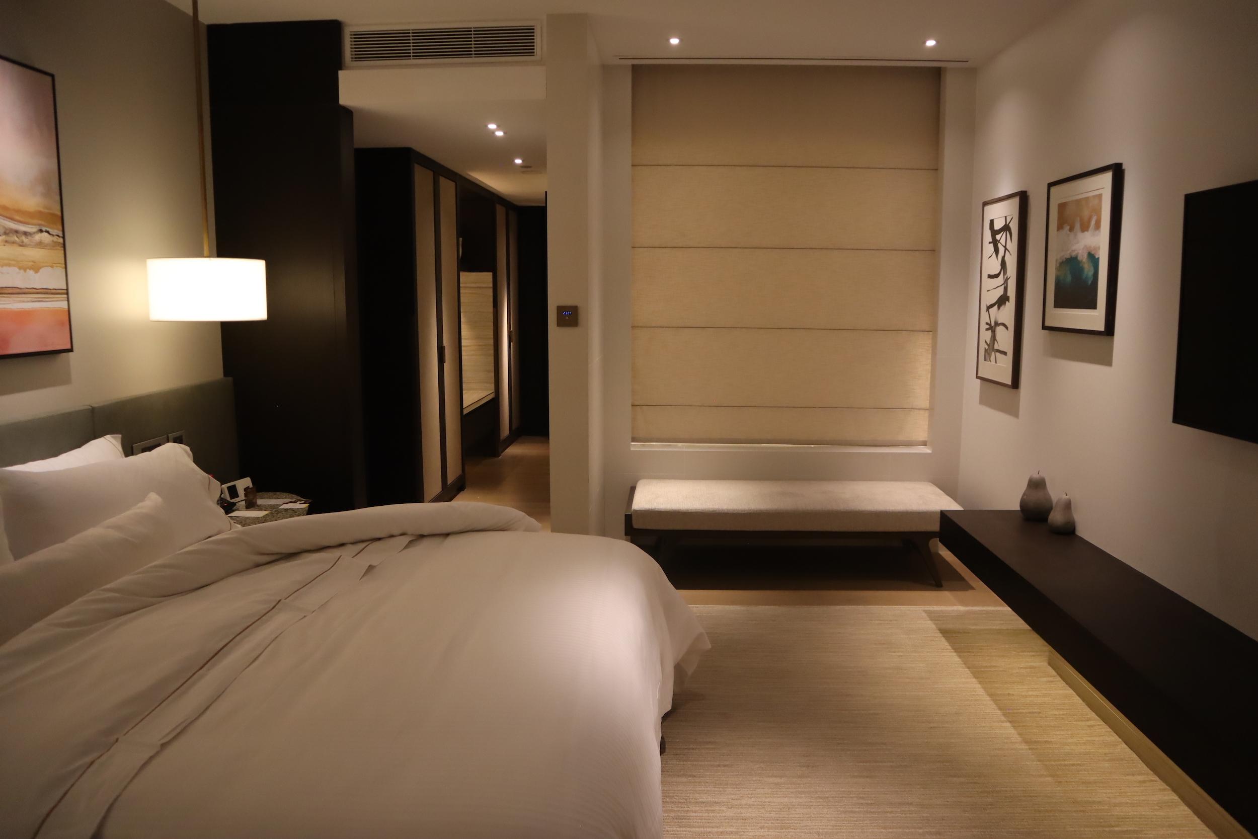 Westin Perth – Westin Suite master bedroom