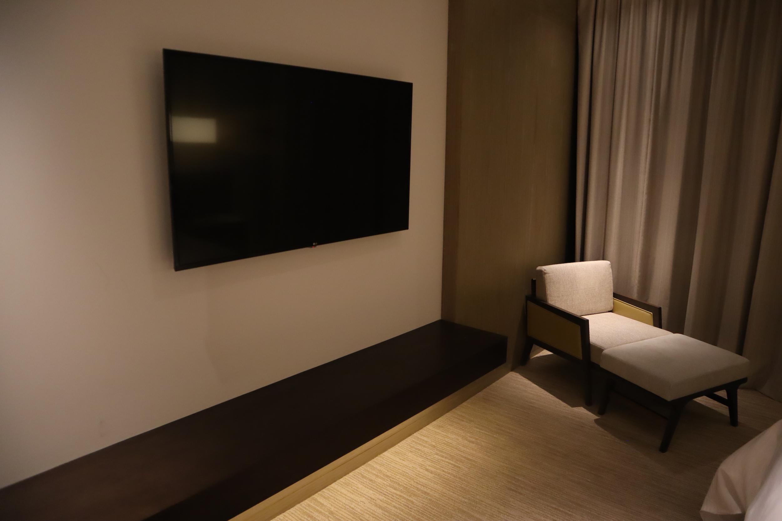 Westin Perth – Westin Suite master bedroom television
