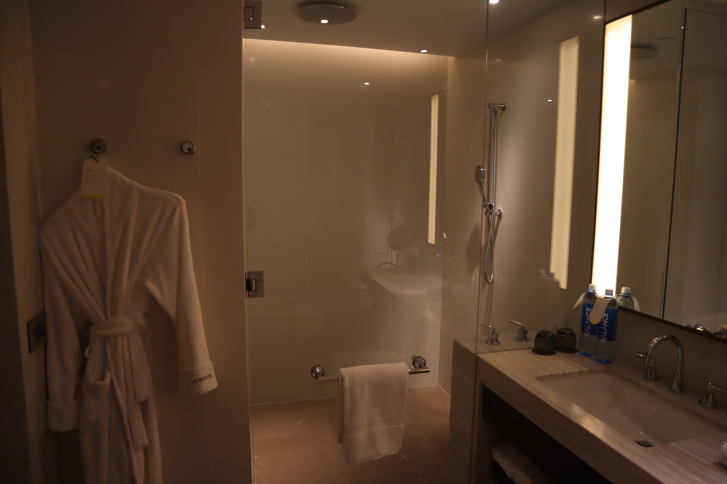 Westin Perth – Westin Suite shower