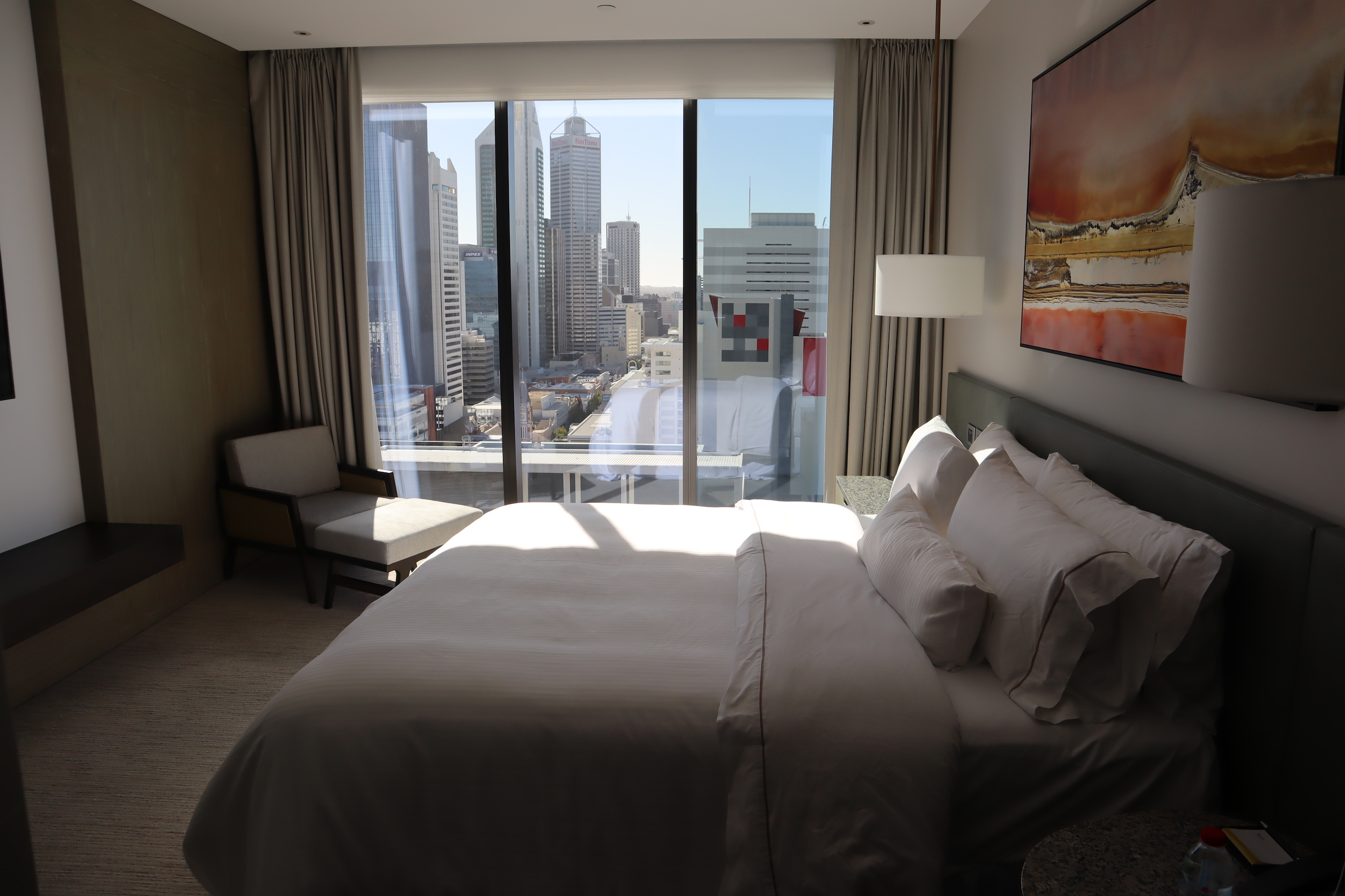 Westin Perth – Westin Suite daytime view