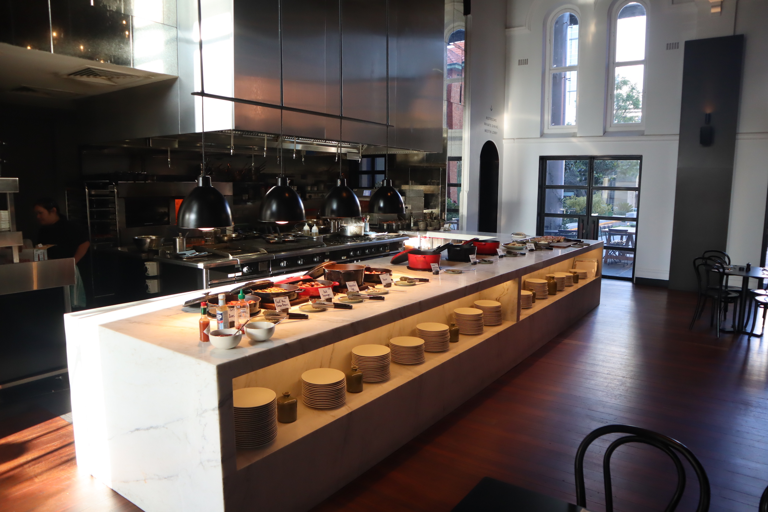 Westin Perth – Garum breakfast spread