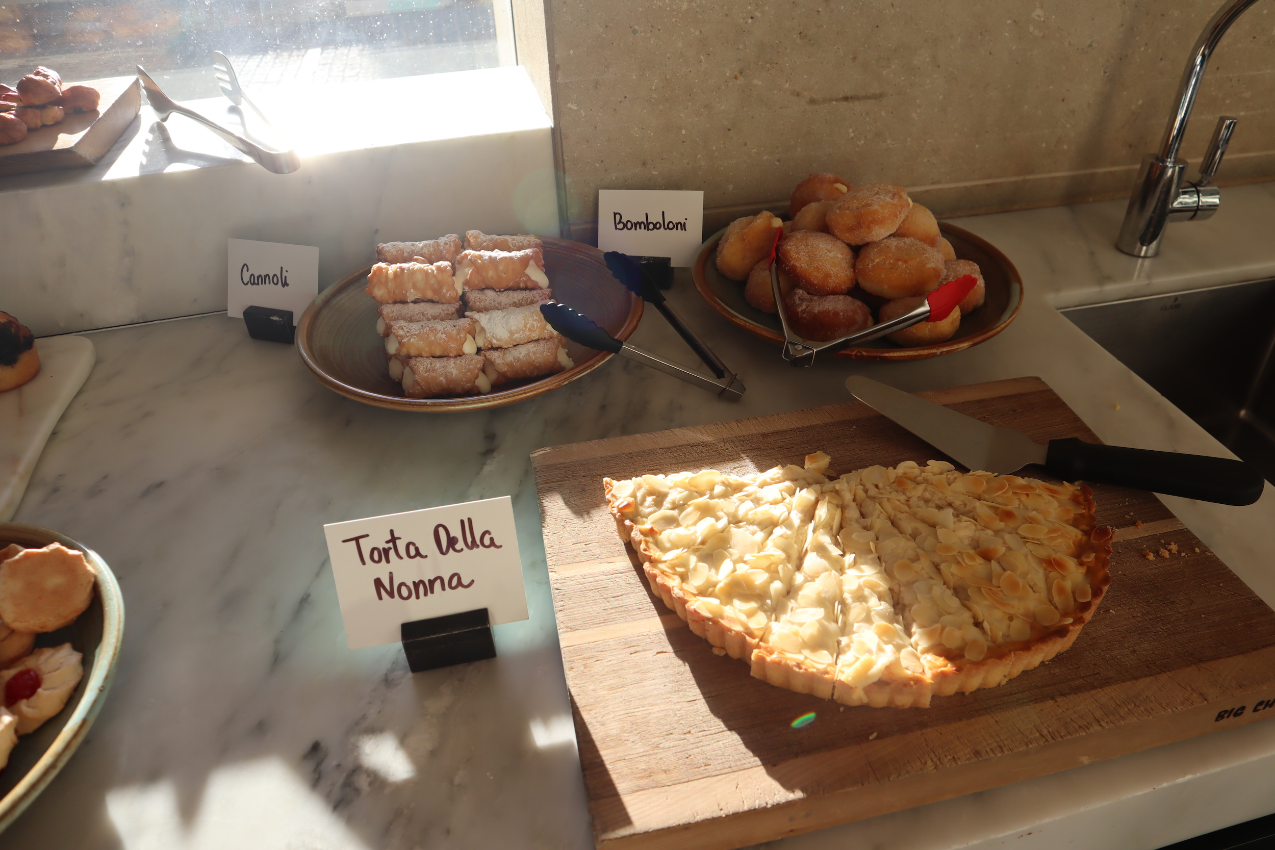 Westin Perth – Garum dessert spread