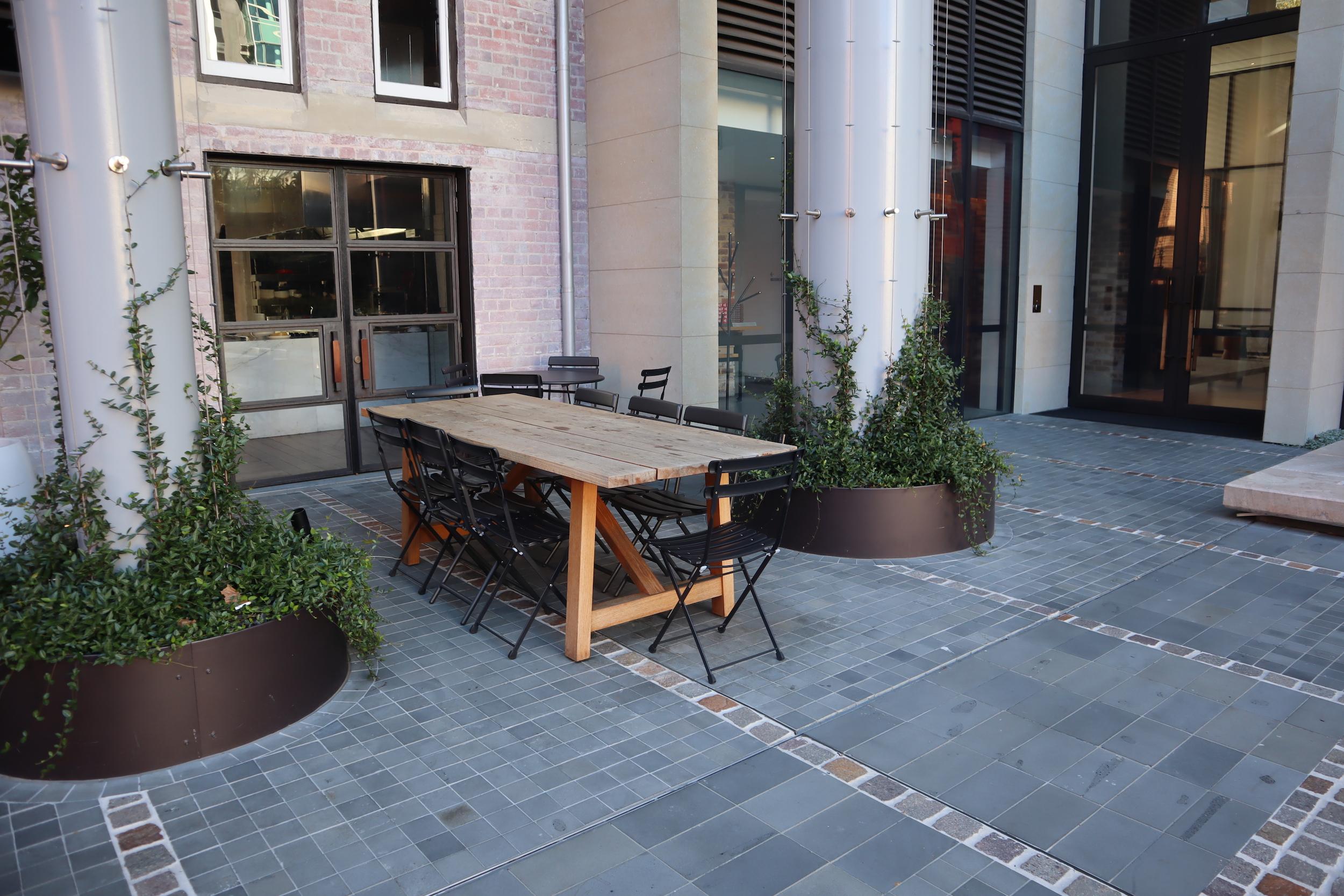 Westin Perth – Garum outdoor patio