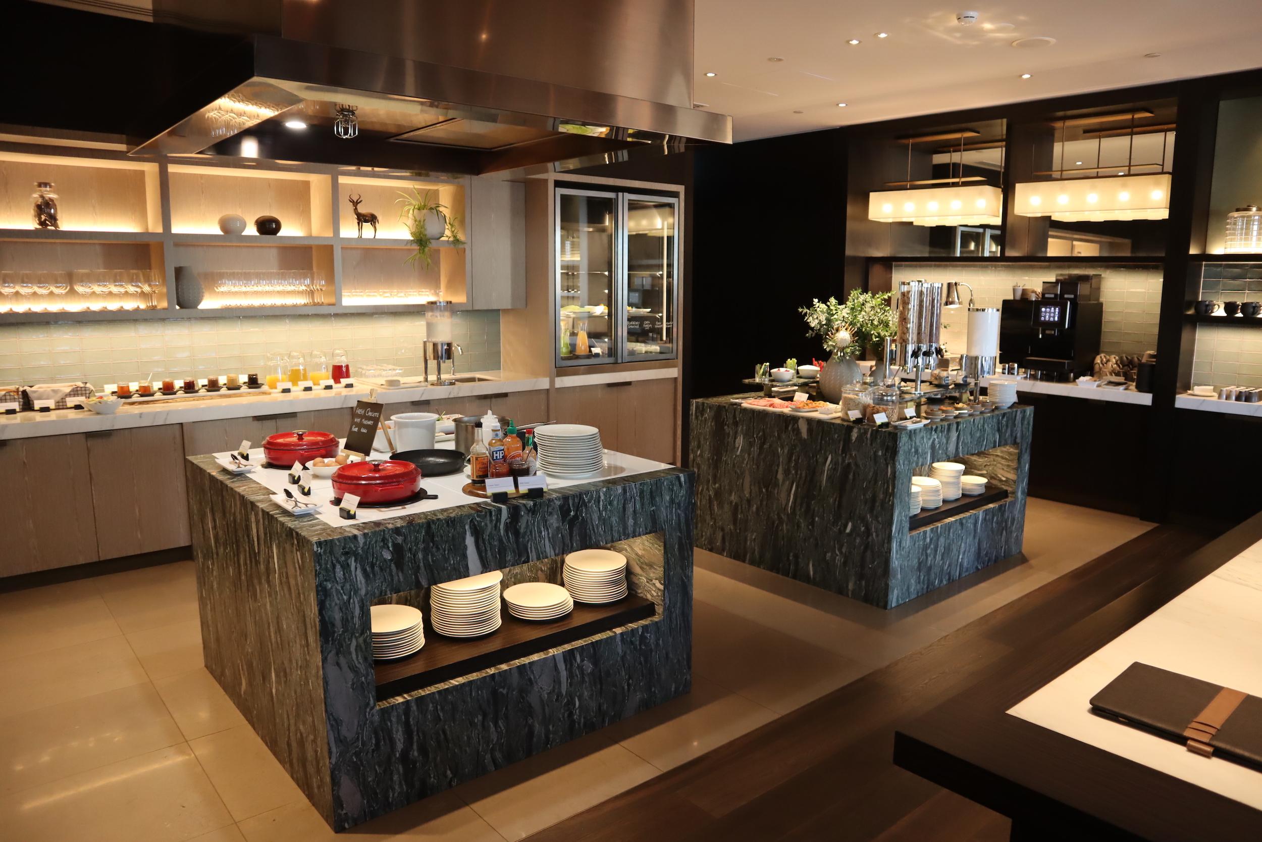 Westin Perth – Executive Lounge breakfast spread