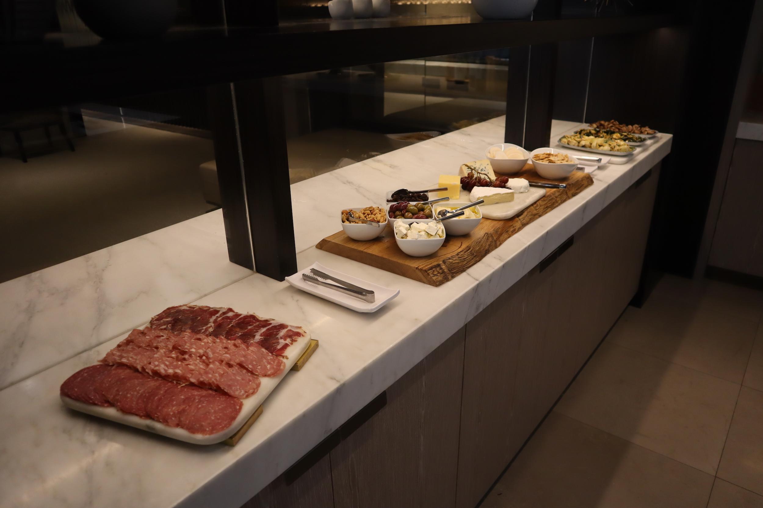 Westin Perth – Executive Lounge evening spread