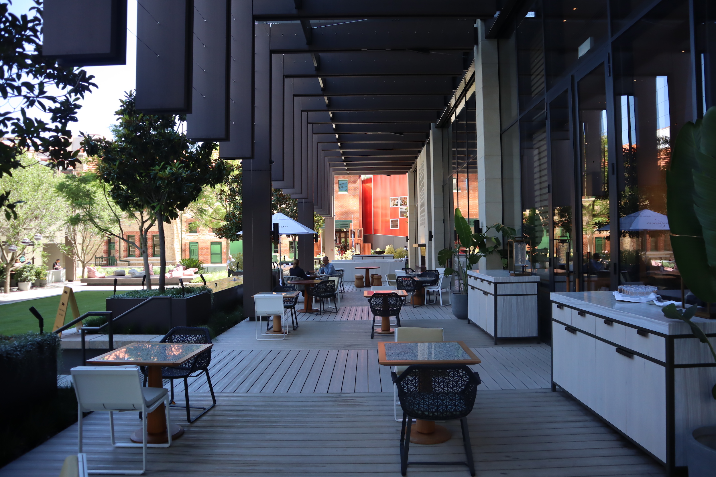 Westin Perth – Haven Bar outdoor patio