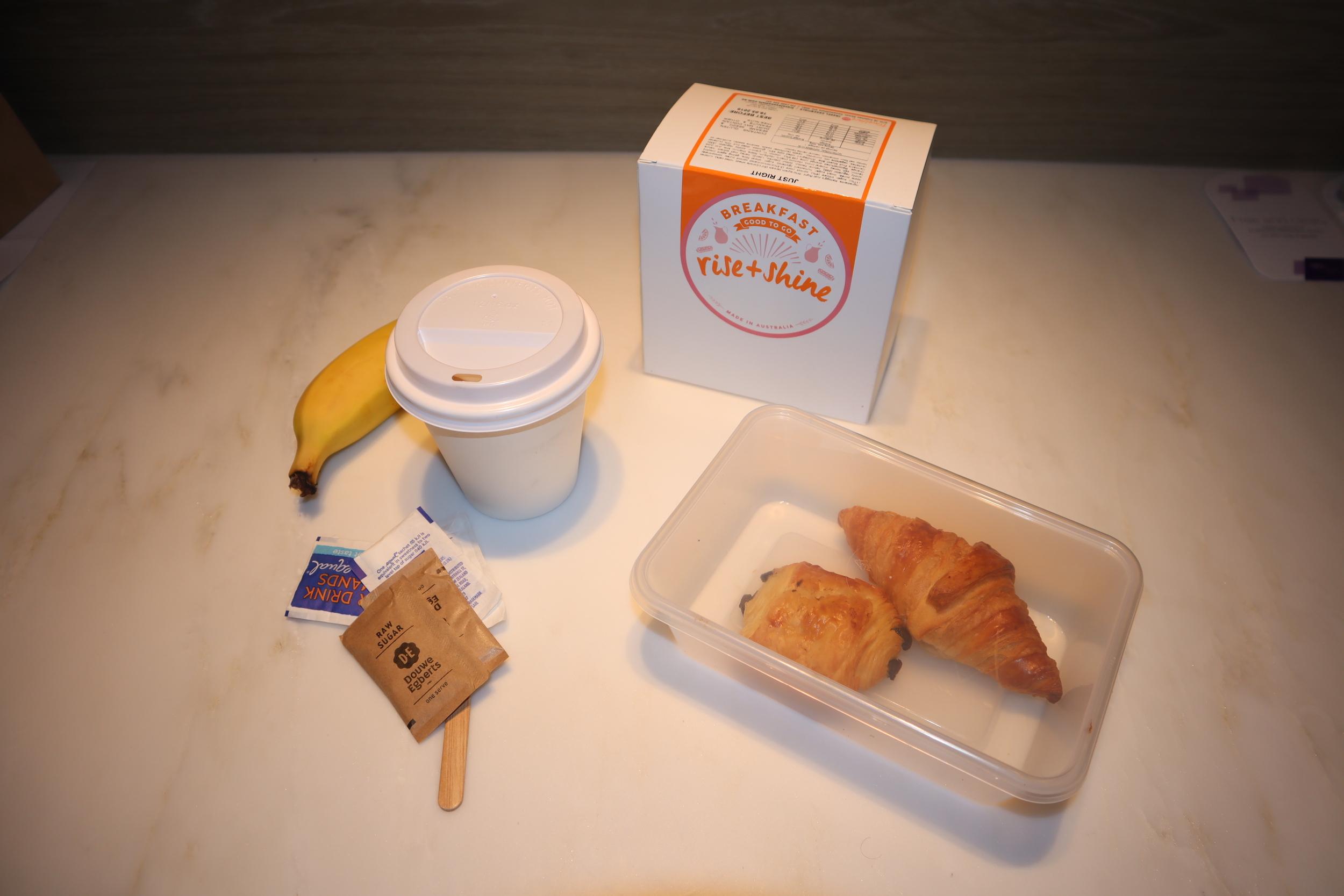 Westin Perth – Breakfast box