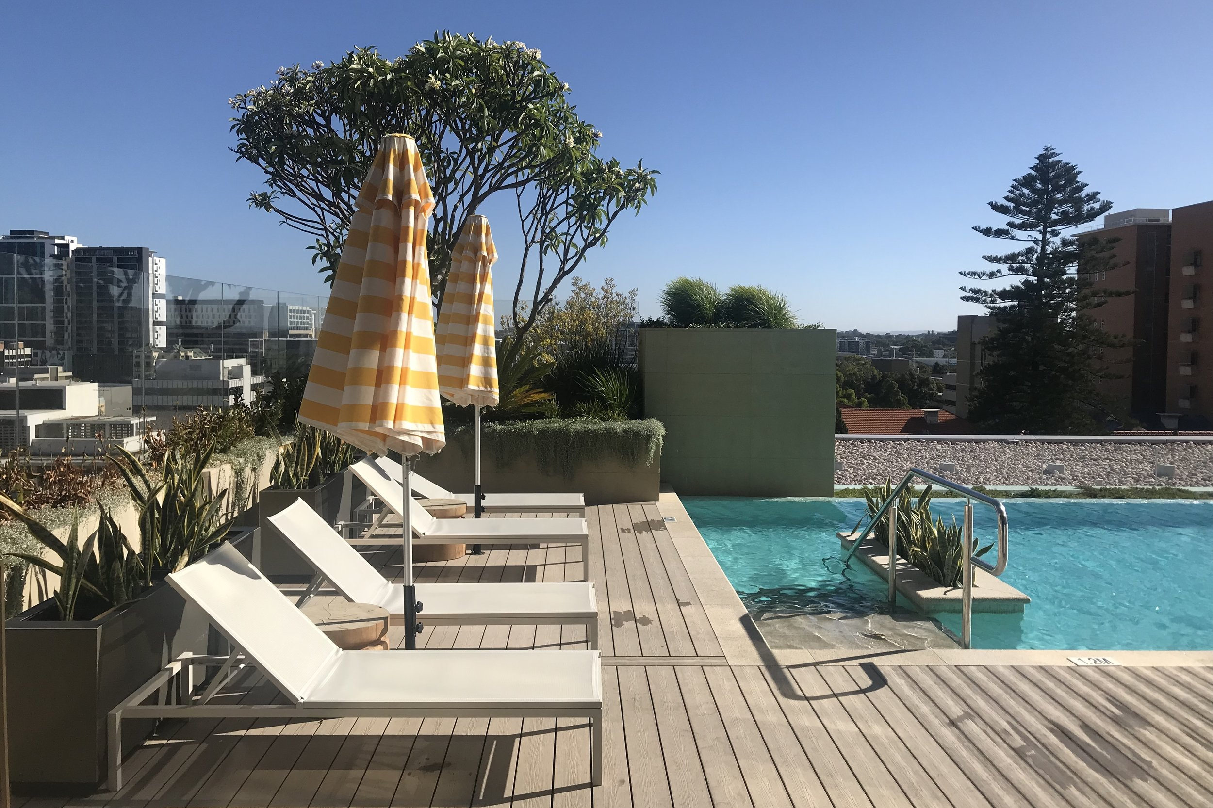 Westin Perth – Poolside