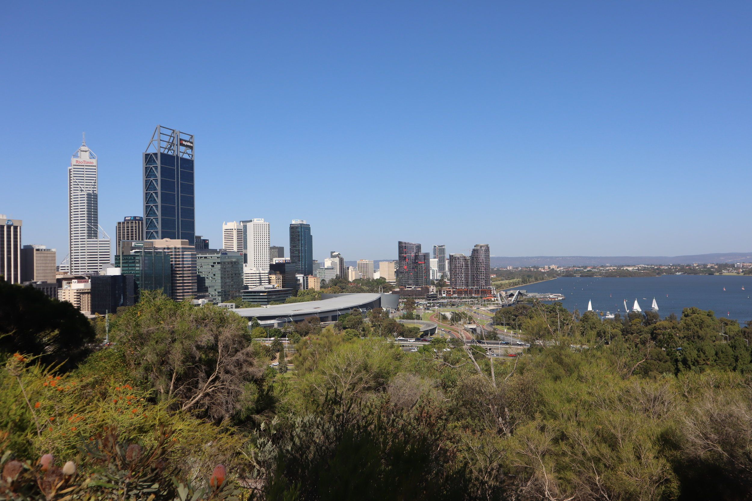 Views of Perth from Kings Park
