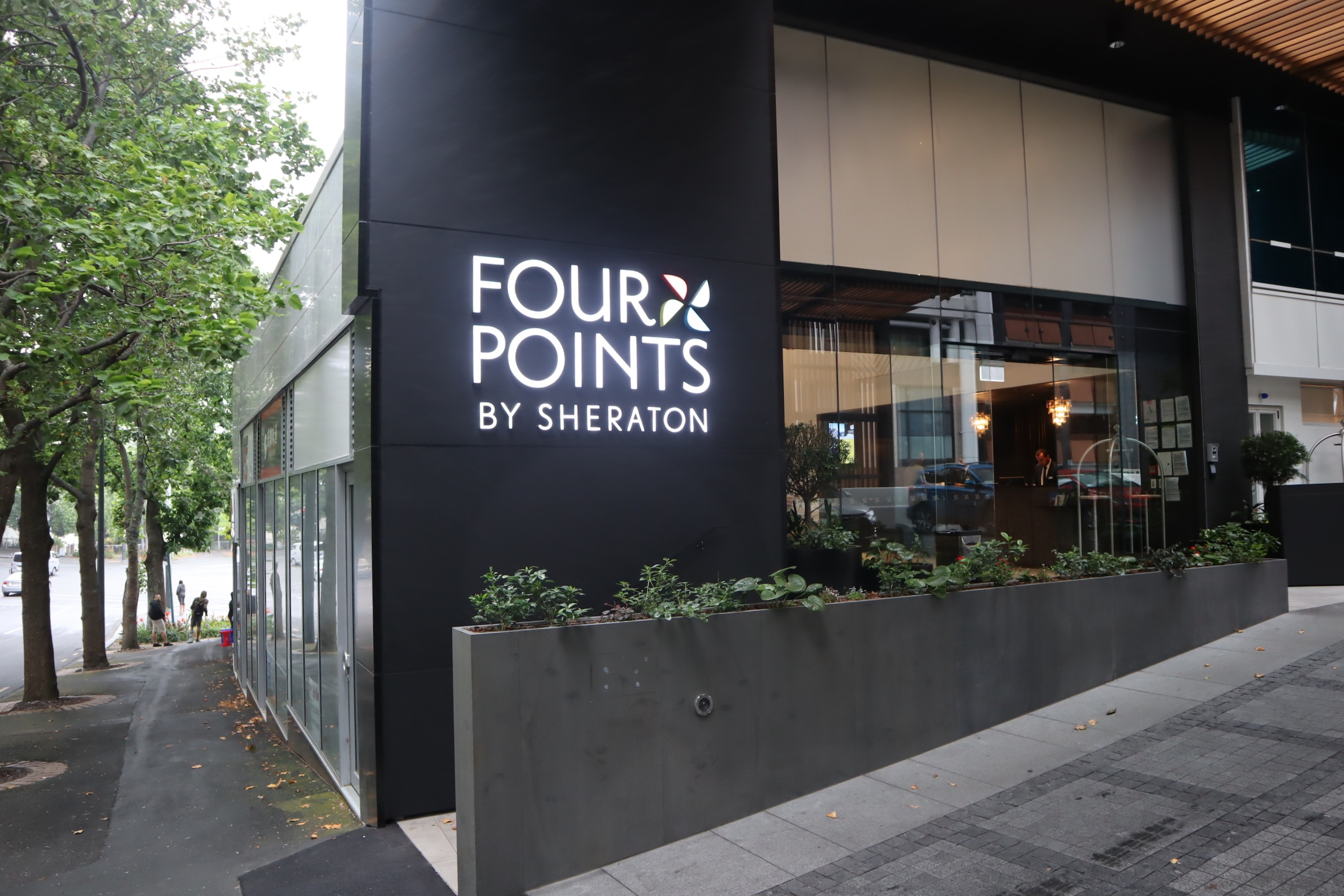 Four Points by Sheraton Auckland – Mayoral Drive entrance