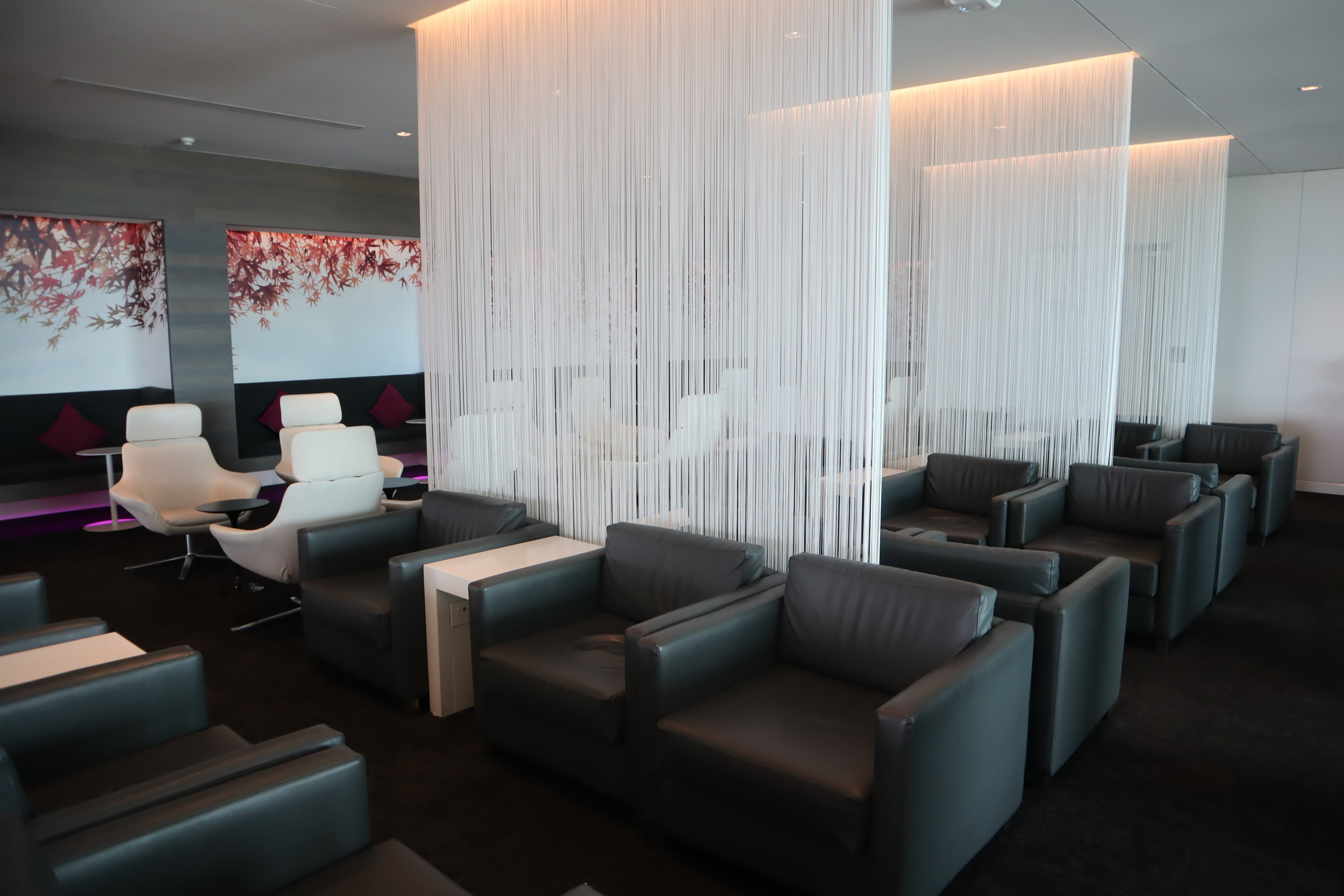 Air New Zealand Lounge Auckland – Seating area