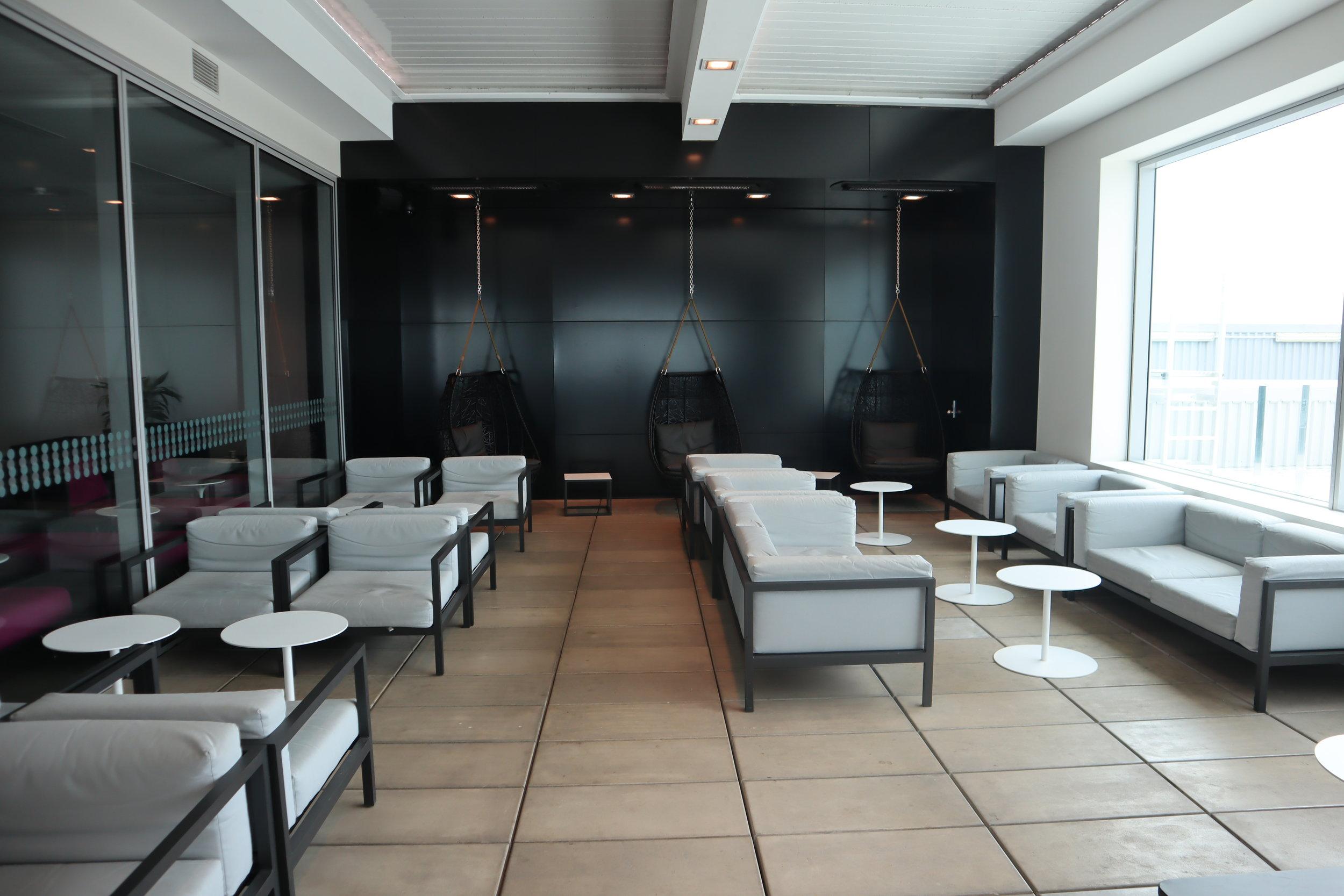 Air New Zealand Lounge Auckland – Outdoor terrace