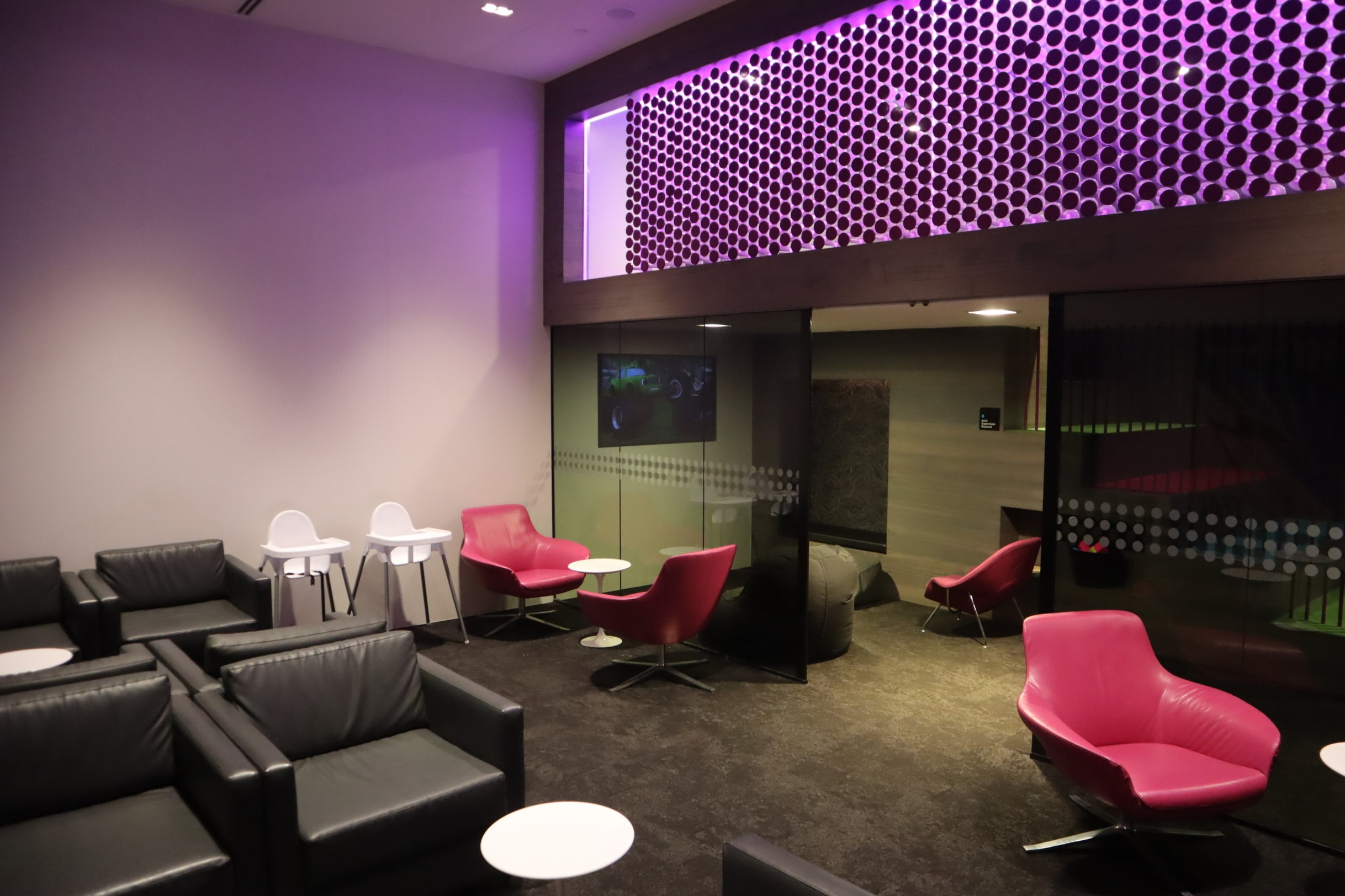 Air New Zealand Lounge Auckland – Kids' play room