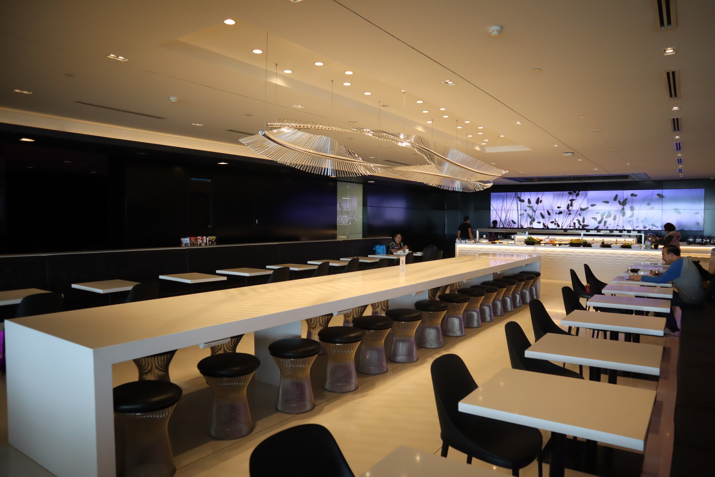 Air New Zealand Lounge Auckland – Dining room