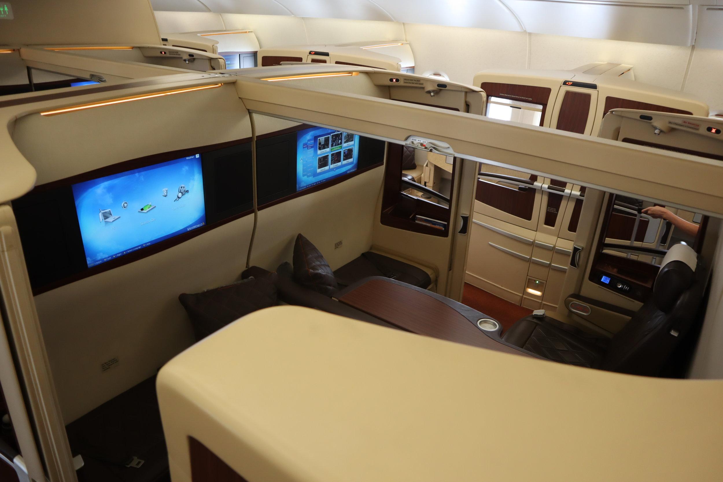 Singapore Airlines Suites Class – Cabin