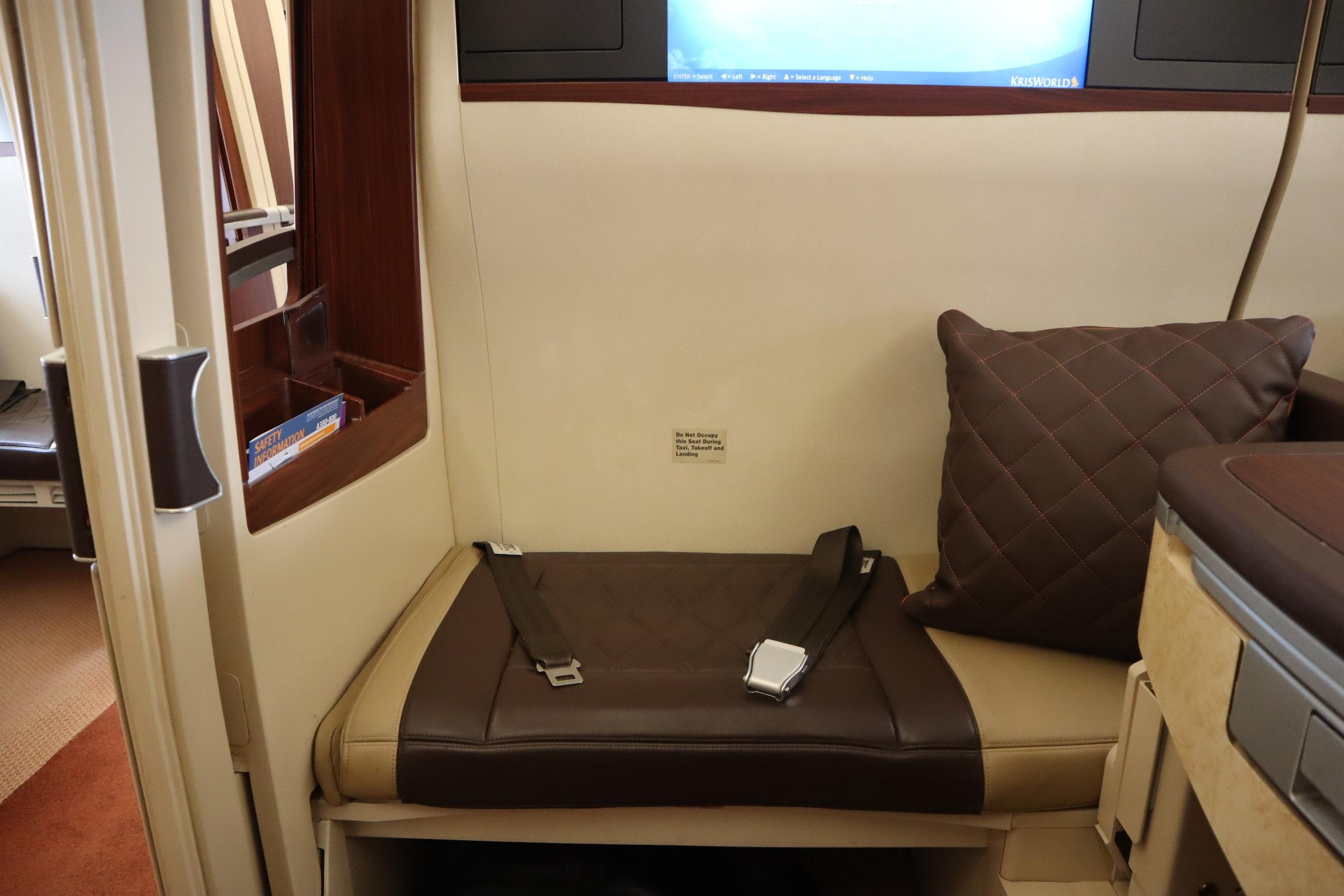 Singapore Airlines Suites Class – Ottoman