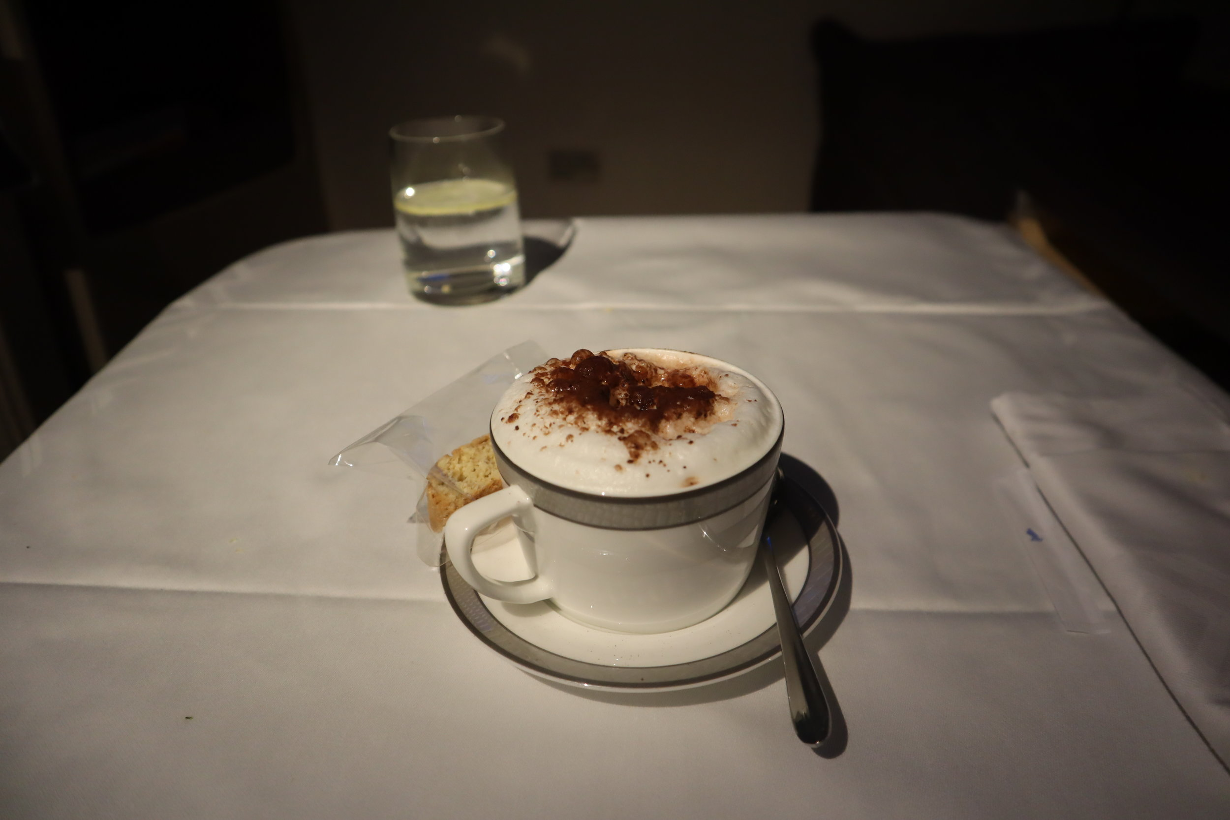 Singapore Airlines Suites Class – Cappuccino