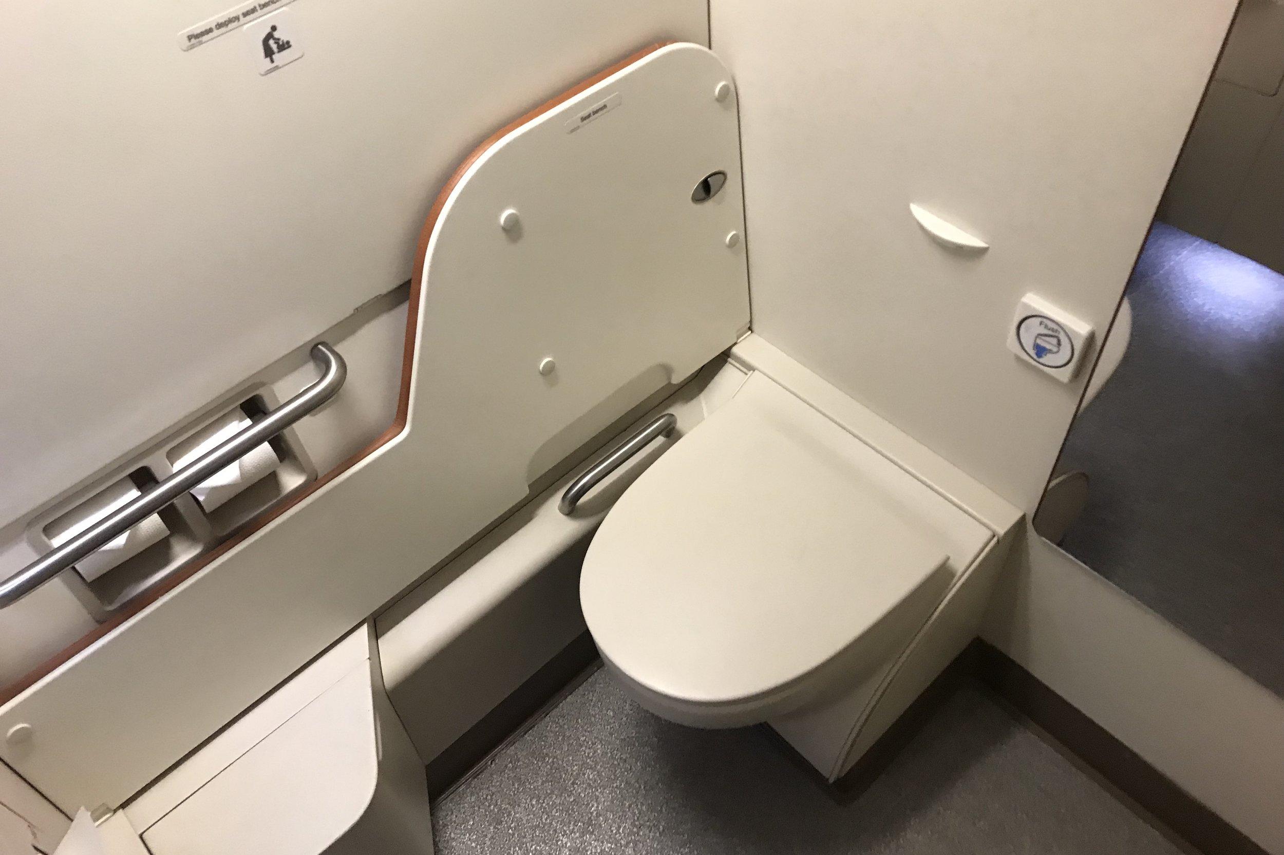 Singapore Airlines Suites Class – Restroom